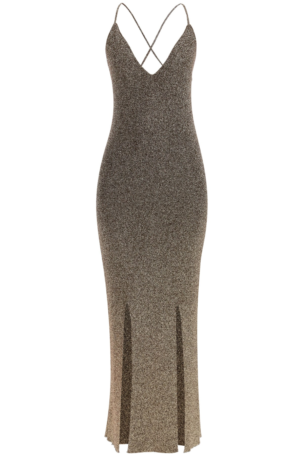 Buy Glitter Knit Dress online, shop Ganni with free shipping