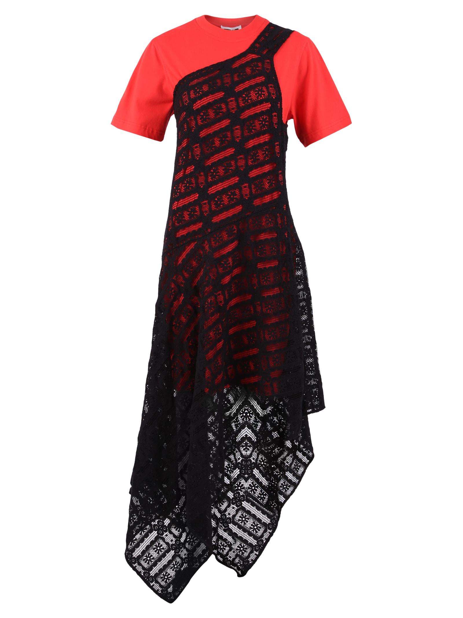 Buy McQ Alexander McQueen Layered Dress online, shop McQ Alexander McQueen with free shipping