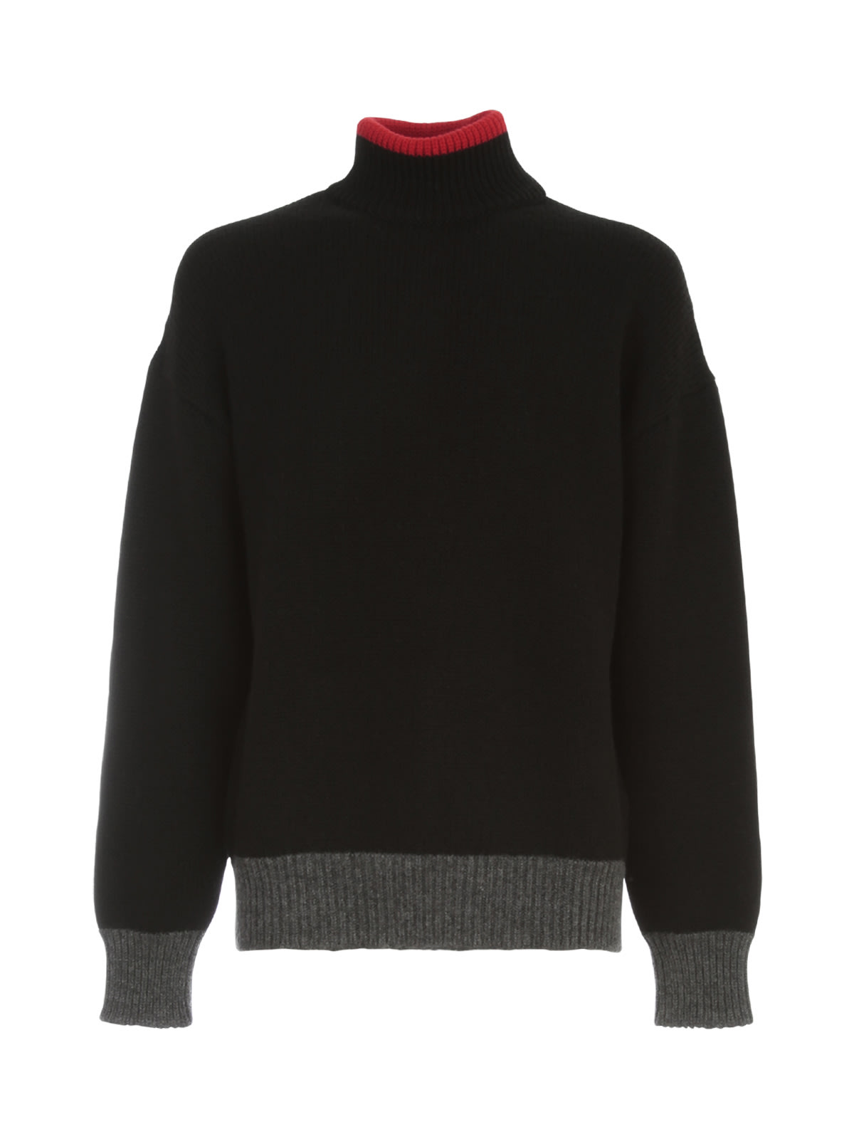 Les Hommes TURTLE NECK MIXED COLORS