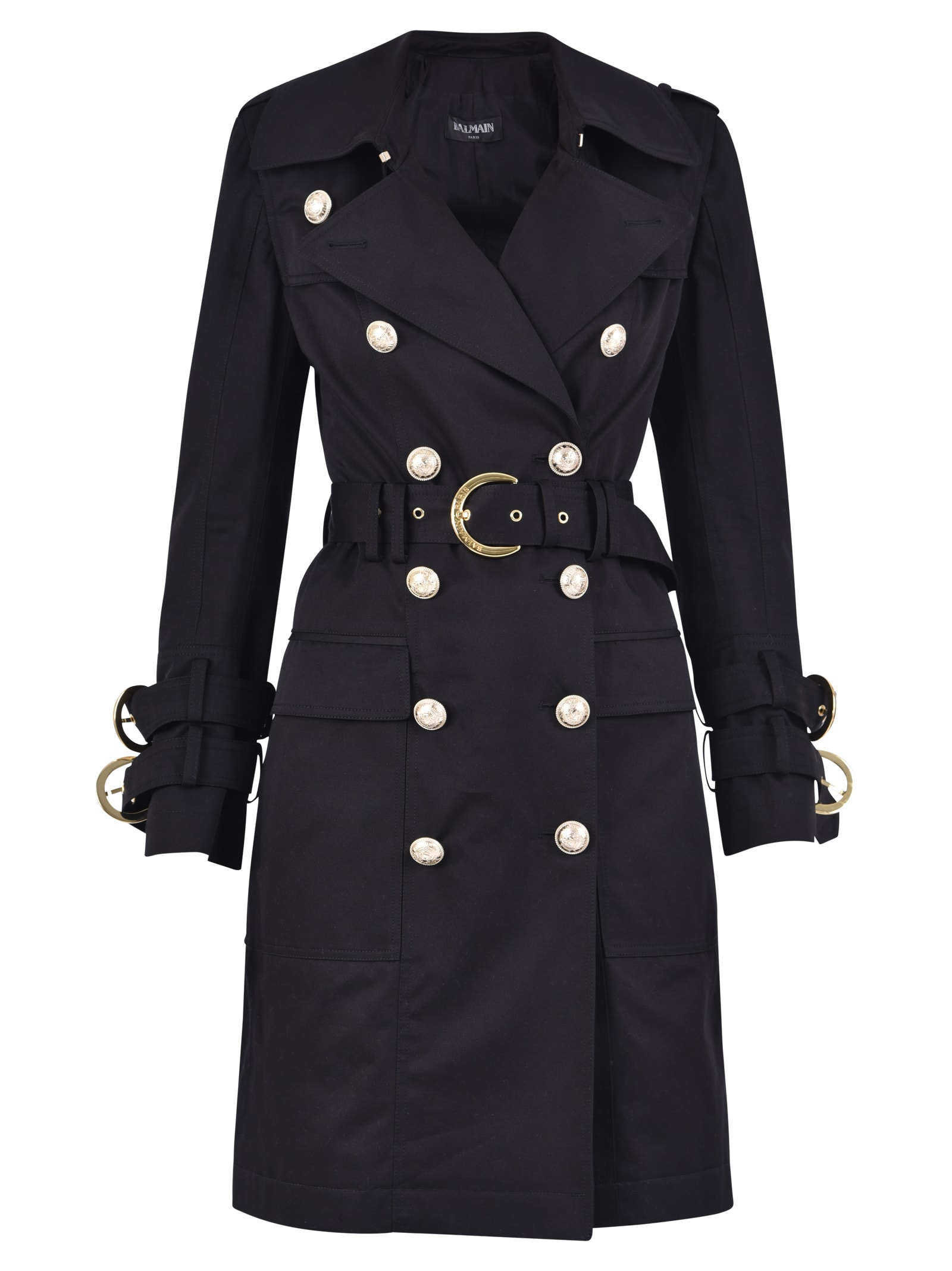 Balmain Double-breasted Trench Coat