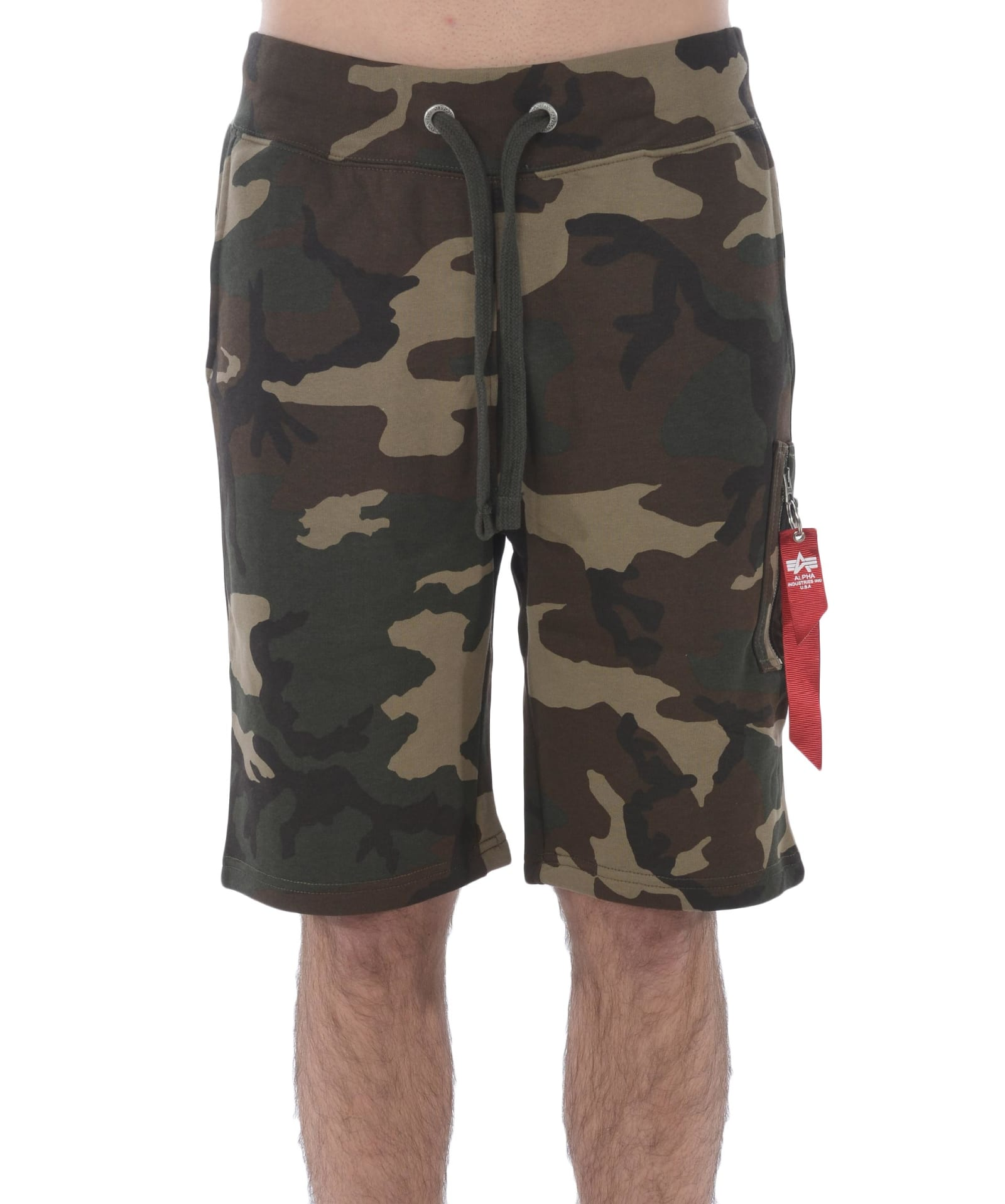 sports shoes fda6e 766d4 Camouflage Print Shorts