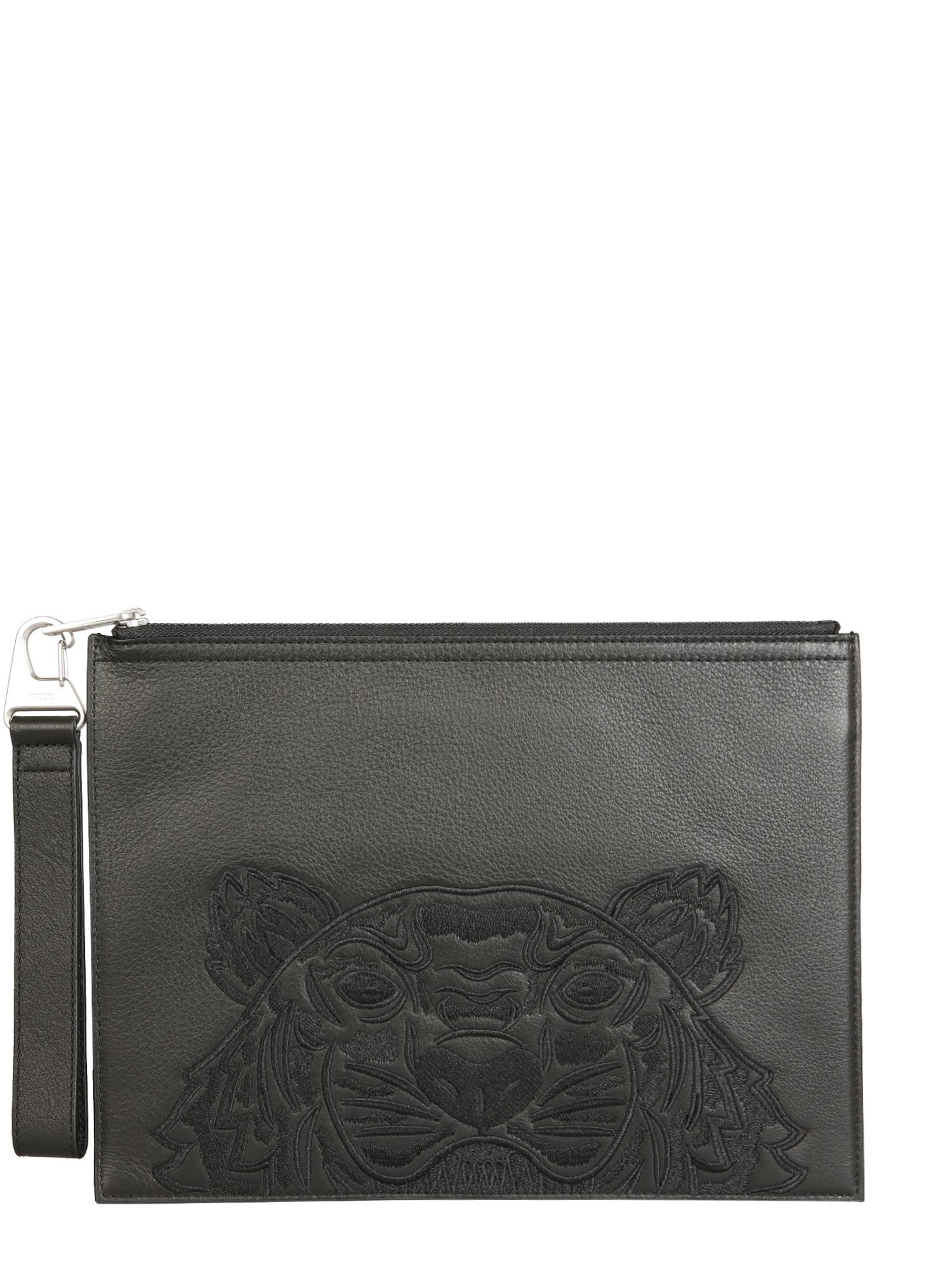 Kenzo Pouches LARGE POUCH WITH LOGO