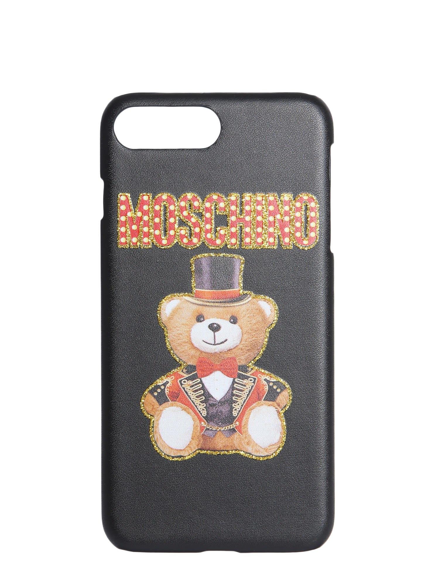 nuovo di zecca afef3 d36c2 Moschino Iphone 6 / 6s / 7 Plus / 8 Plus Cover