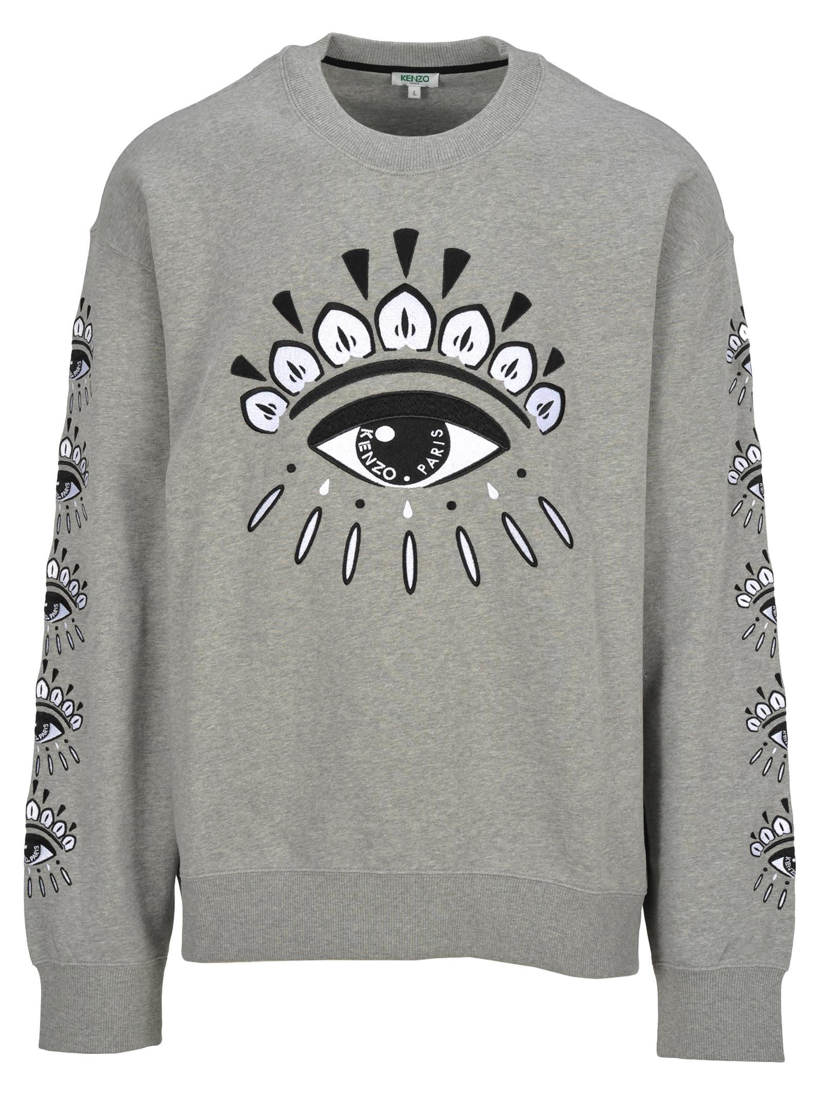 936e015fe8 Kenzo Kenzo Embroidered Eye Sweatshirt
