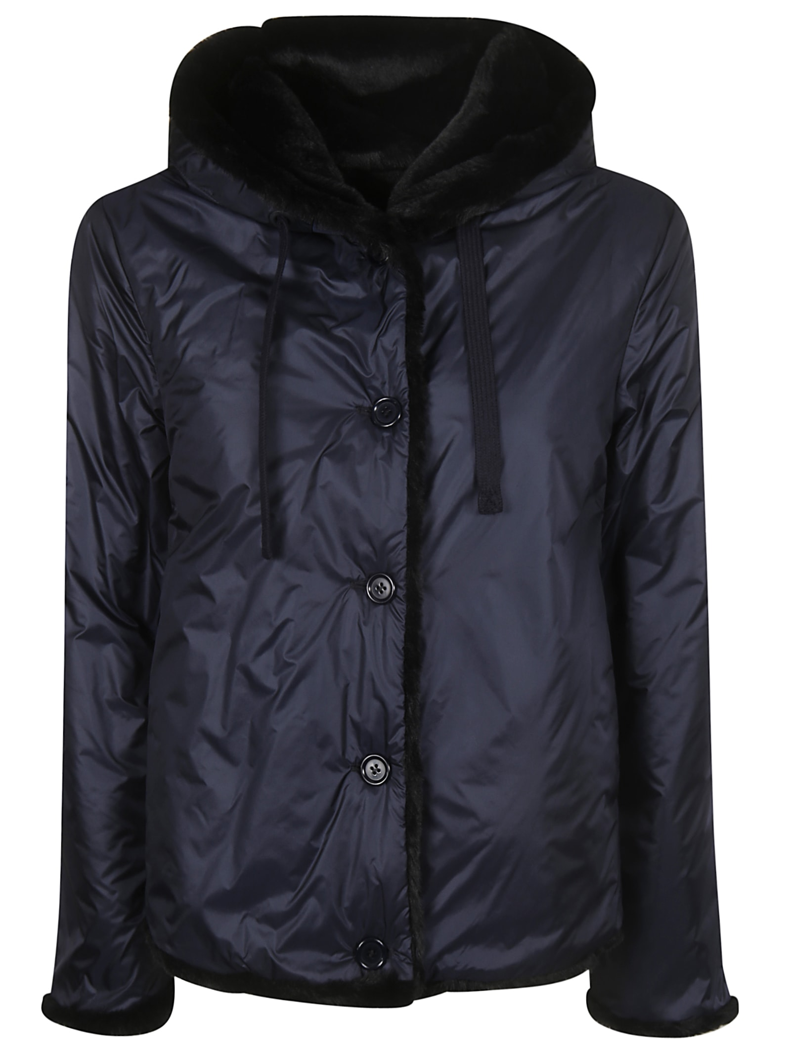 Aspesi Hooded Reversible Jacket