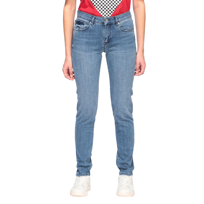 Love Moschino Jeans Love Moschino Skinny Low Waist Jeans