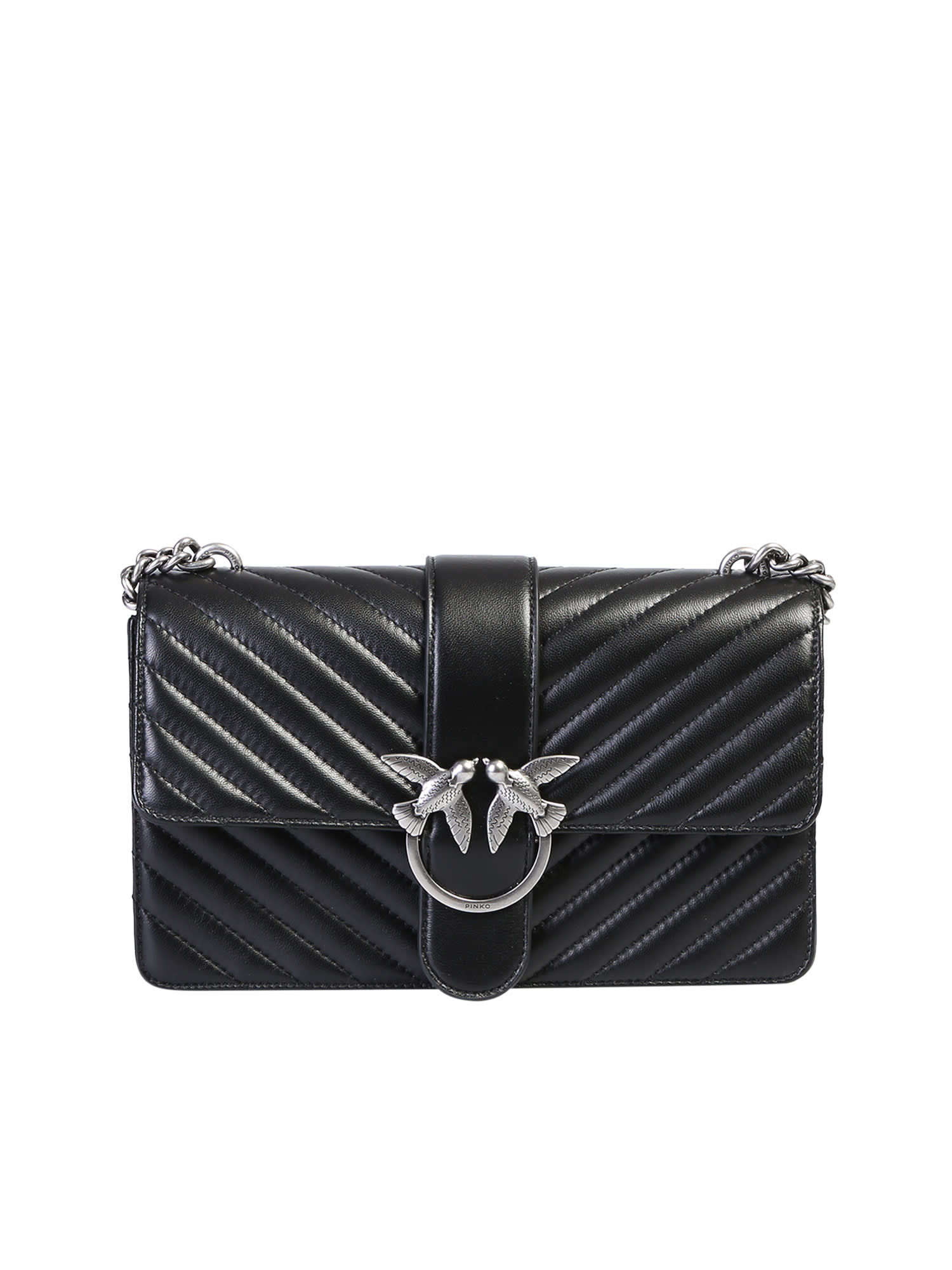 huge discount 02742 af739 Pinko Quilted Love Bag
