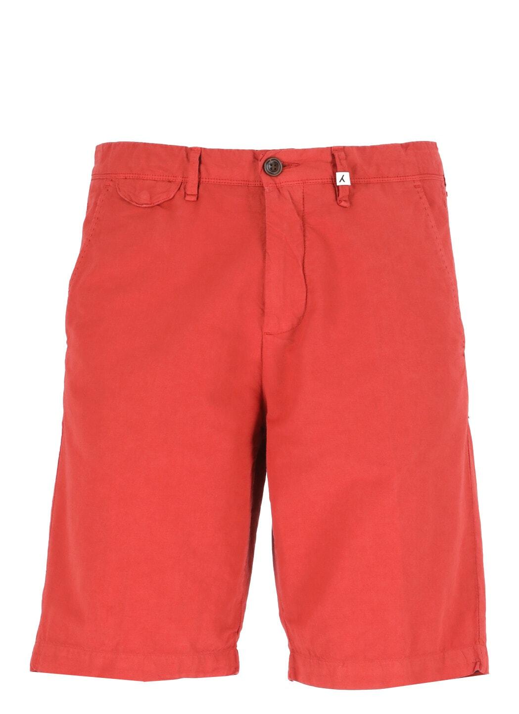 Cotton Blend Bermuda Short