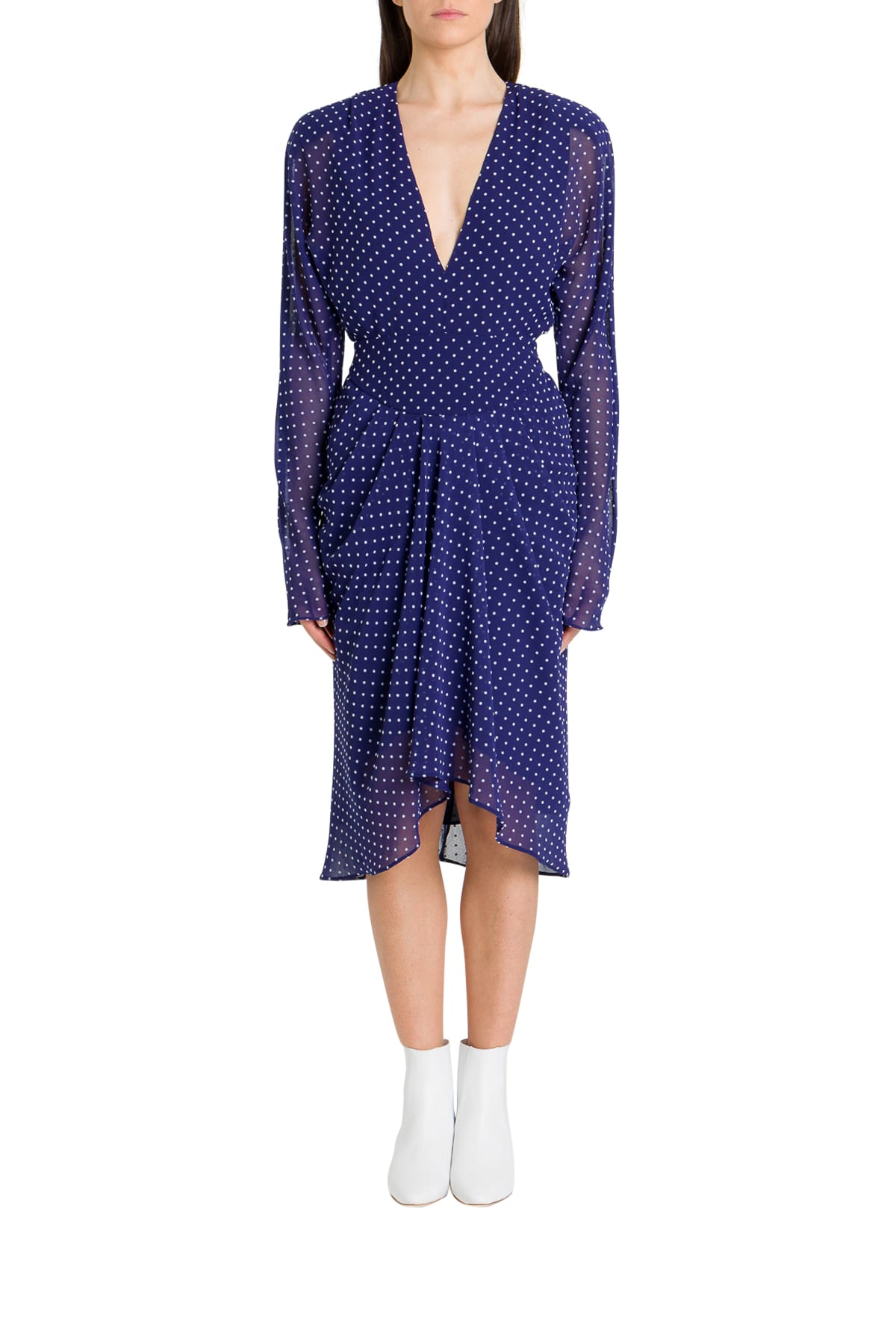 Buy Philosophy di Lorenzo Serafini Short Dress With Flounces And Ballon Minidress online, shop Philosophy di Lorenzo Serafini with free shipping