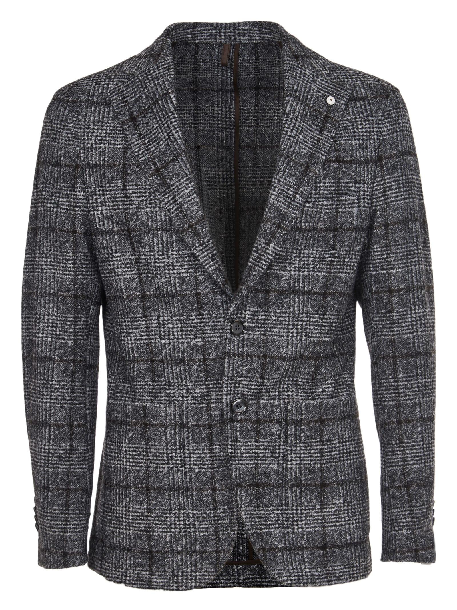 1911 Gray Checked Jacket