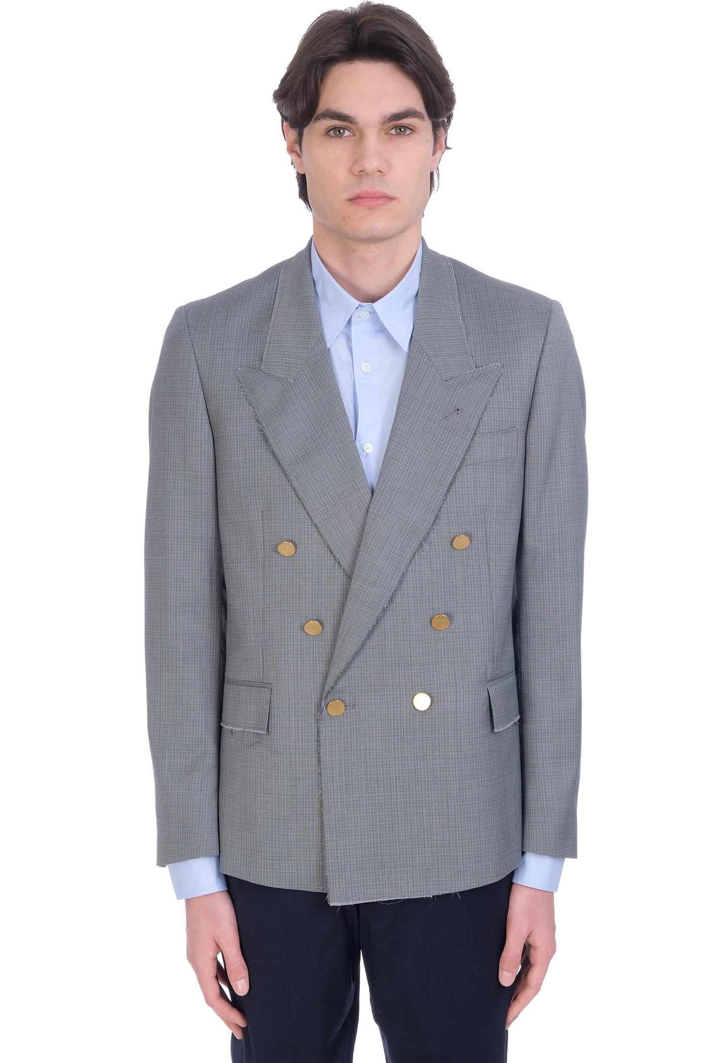 Jacket In Grey Wool