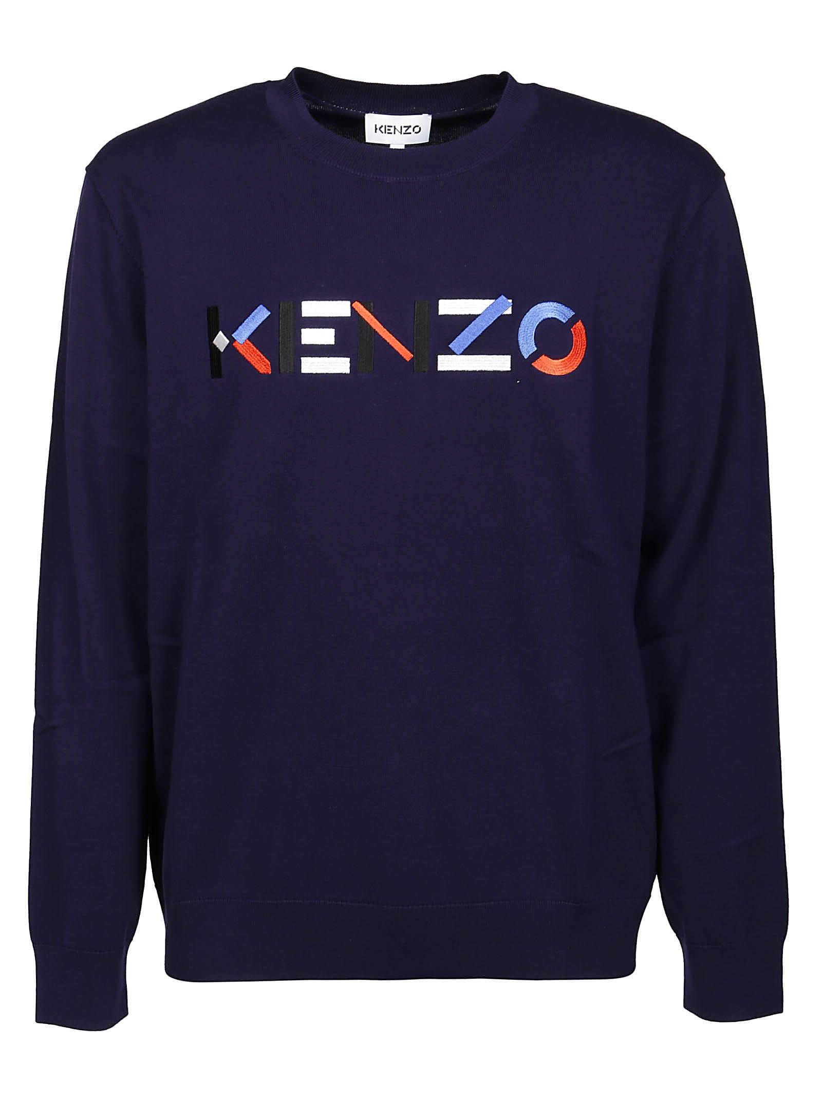 Kenzo Sweater Multicolor Classic Jumper