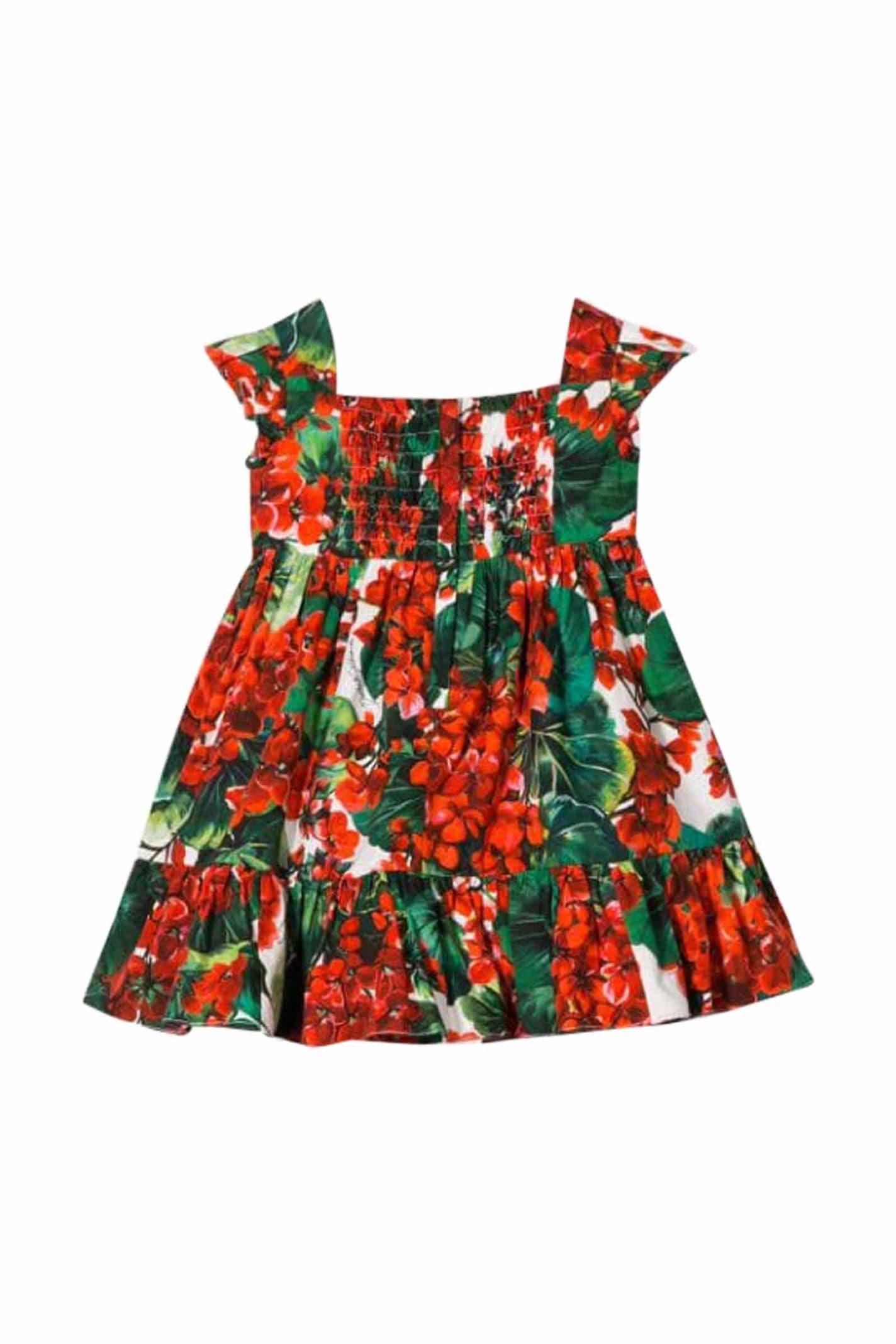Dolce & Gabbana Portofino Cotton Dress