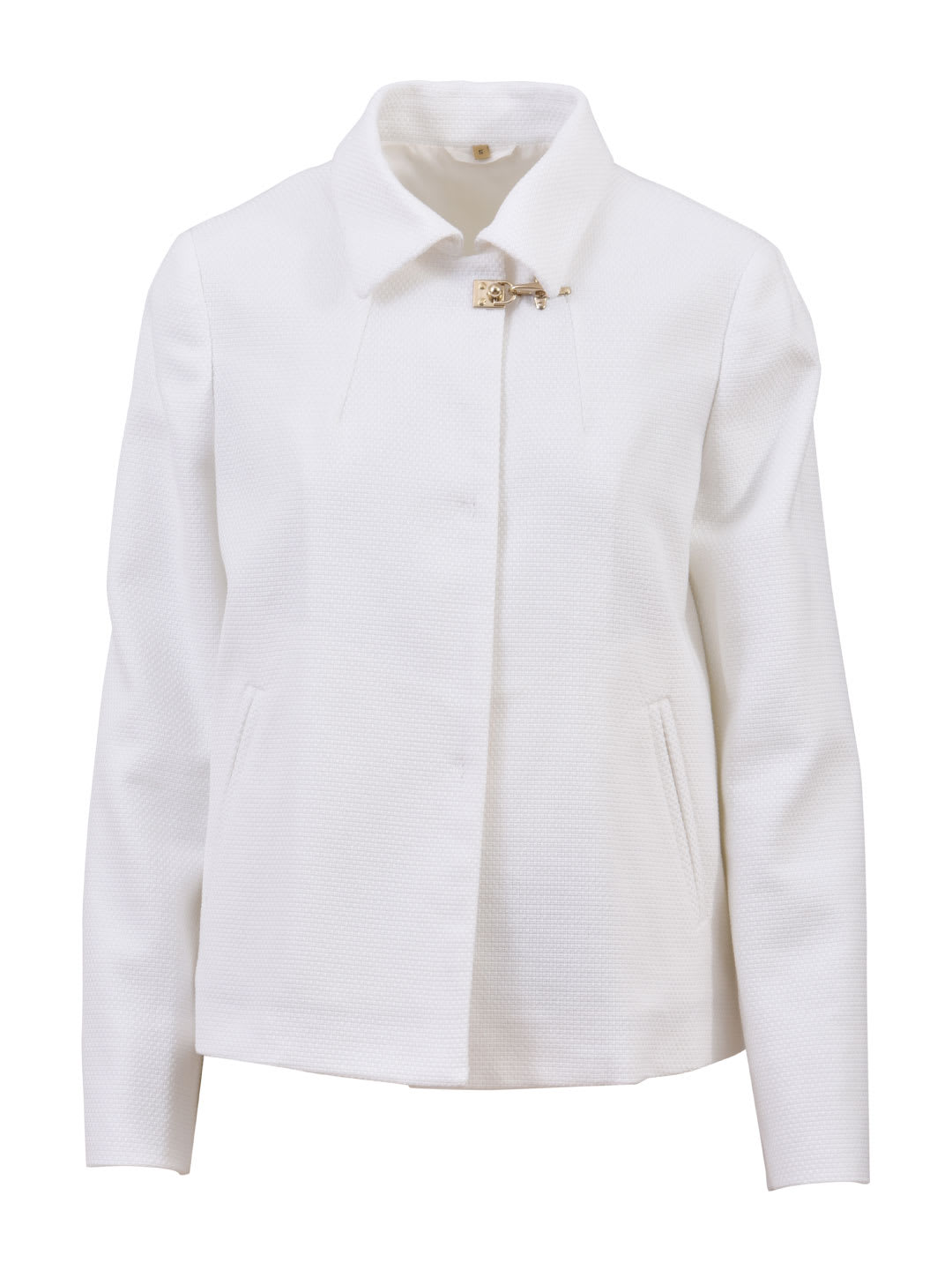 Fay White Short Jacket