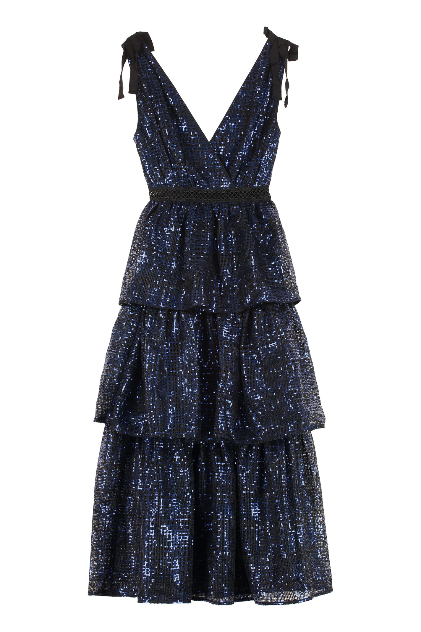 Buy self-portrait Sequin Dress online, shop self-portrait with free shipping