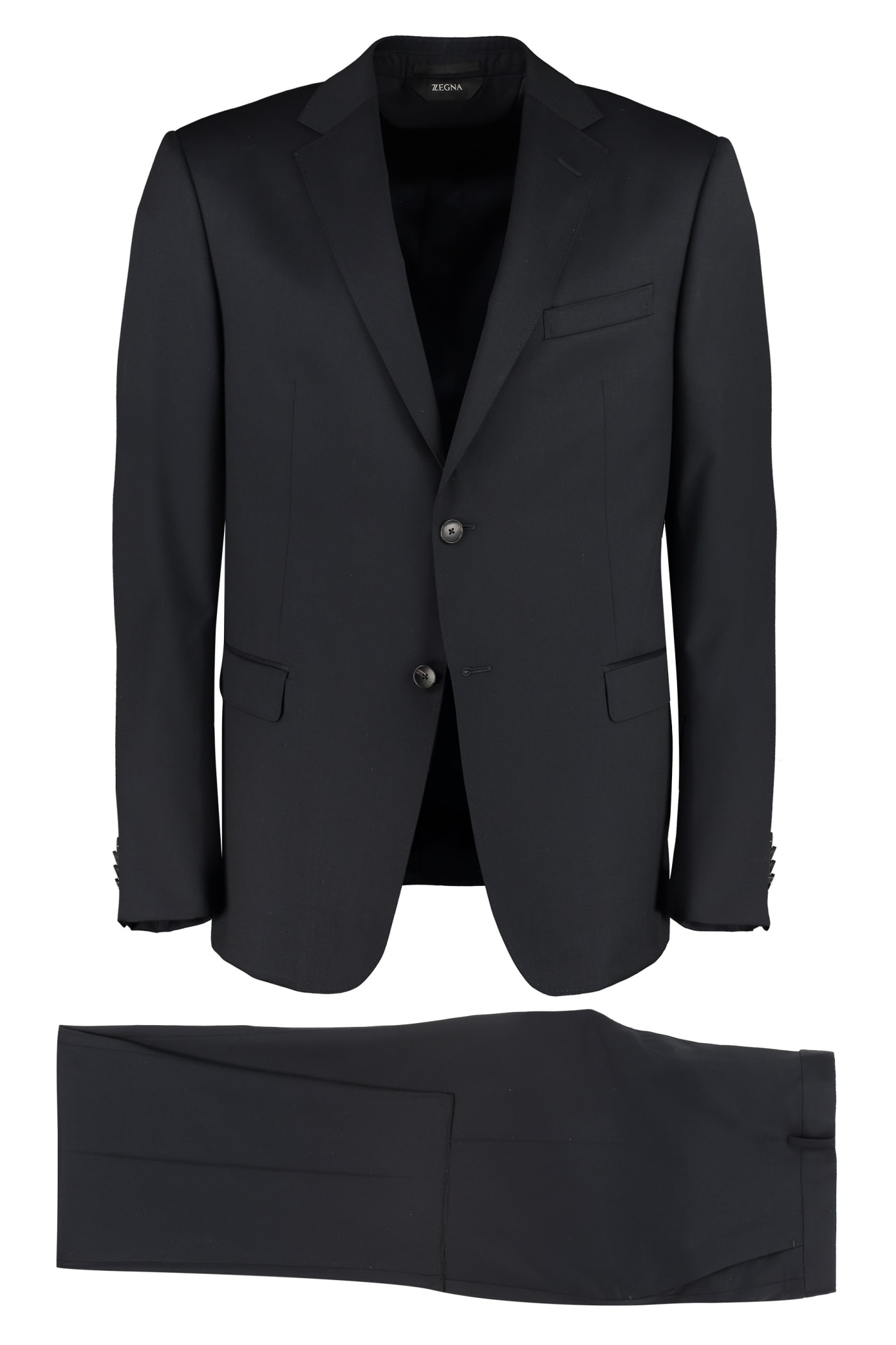 Z Zegna WOOL TWO-PIECES SUIT