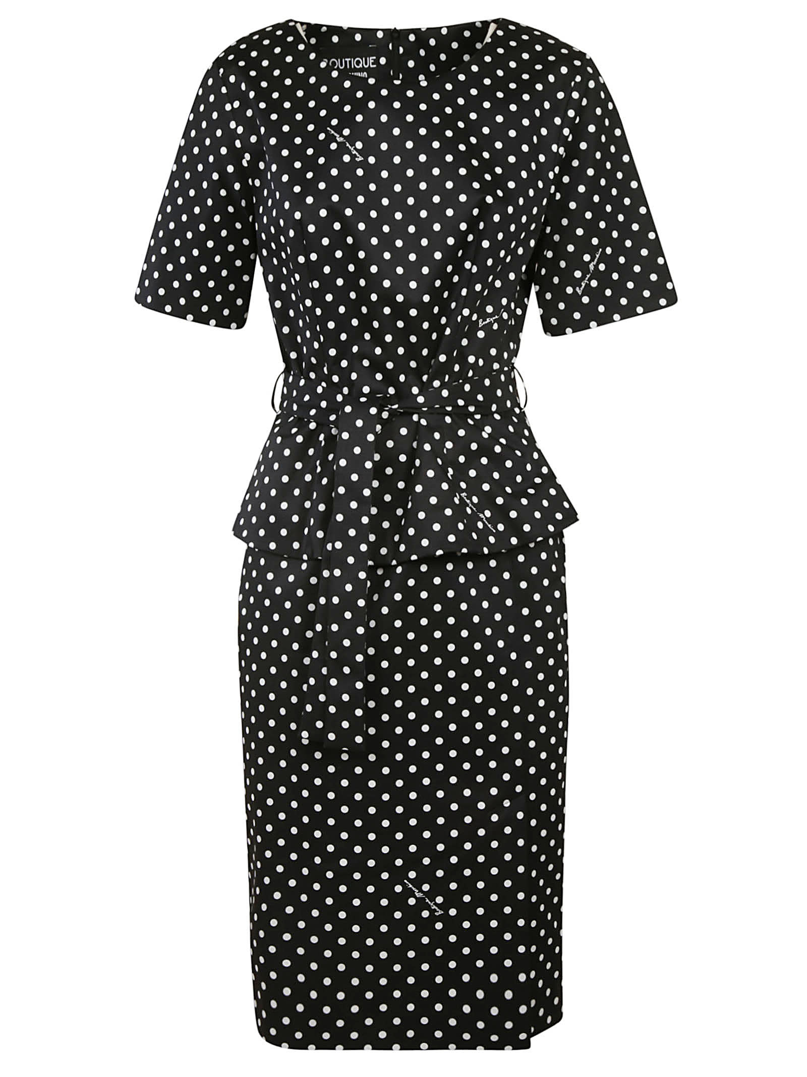 Buy Moschino Dotted Print Dress online, shop Moschino with free shipping