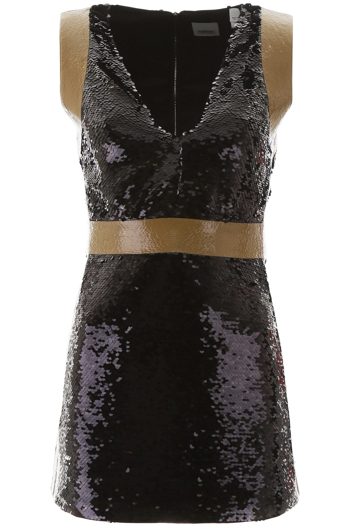Buy Burberry Sequined Mini Dress online, shop Burberry with free shipping