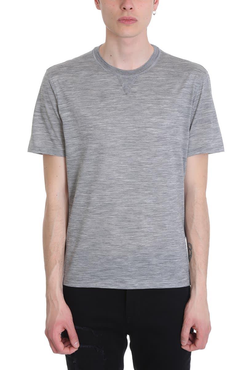 ec0c845d Ermenegildo Zegna Grey Cotton T-shirt