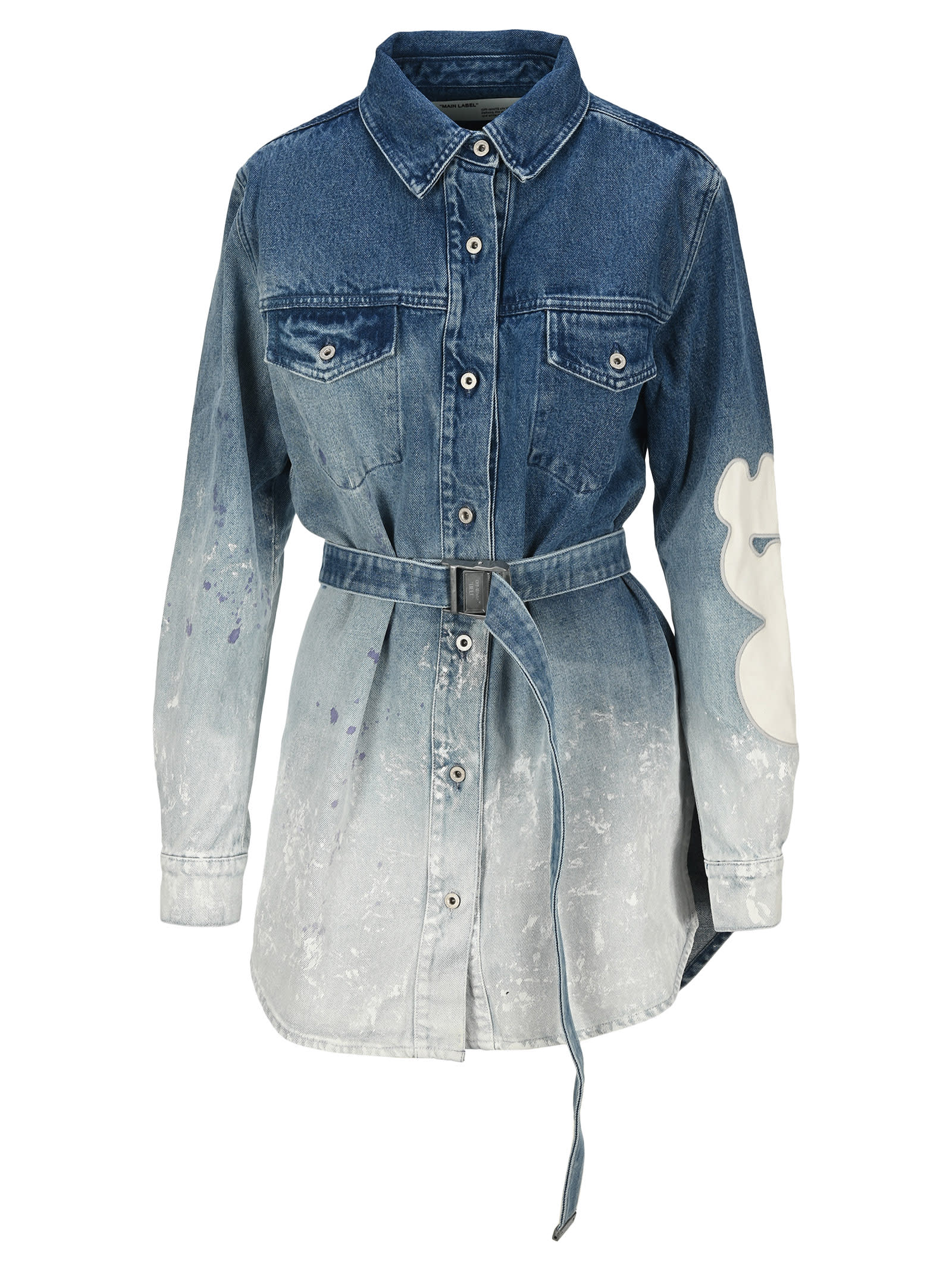 Buy Off White Shaped Dress Jeans online, shop Off-White with free shipping
