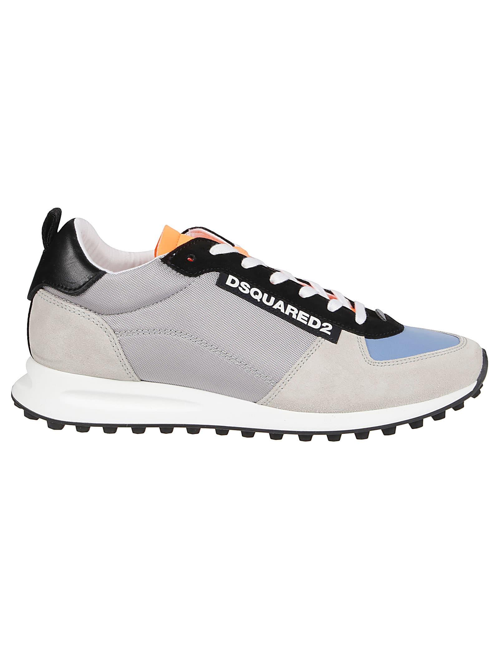 Dsquared2 Sneaker from Dsquared2Composition: 75% Polyester, 10% Calf Leather, 8% Nylon, 5% Polyethylene, 2% Elastane