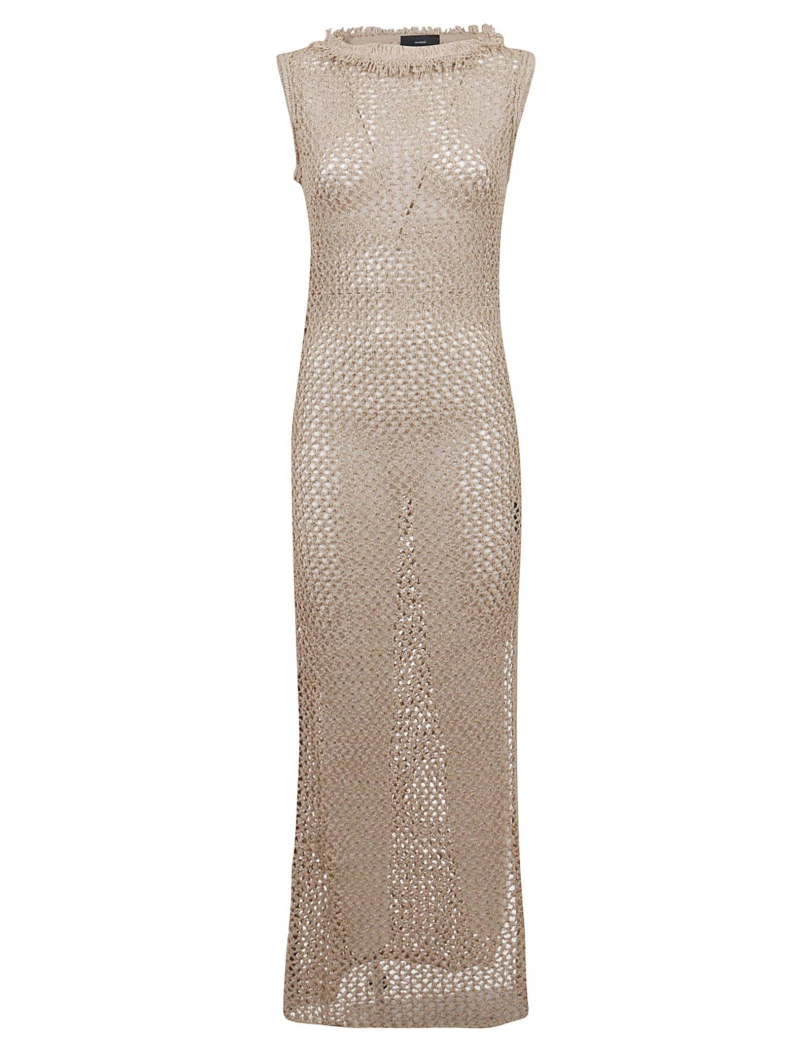 Buy Alanui Maxi Dress online, shop Alanui with free shipping