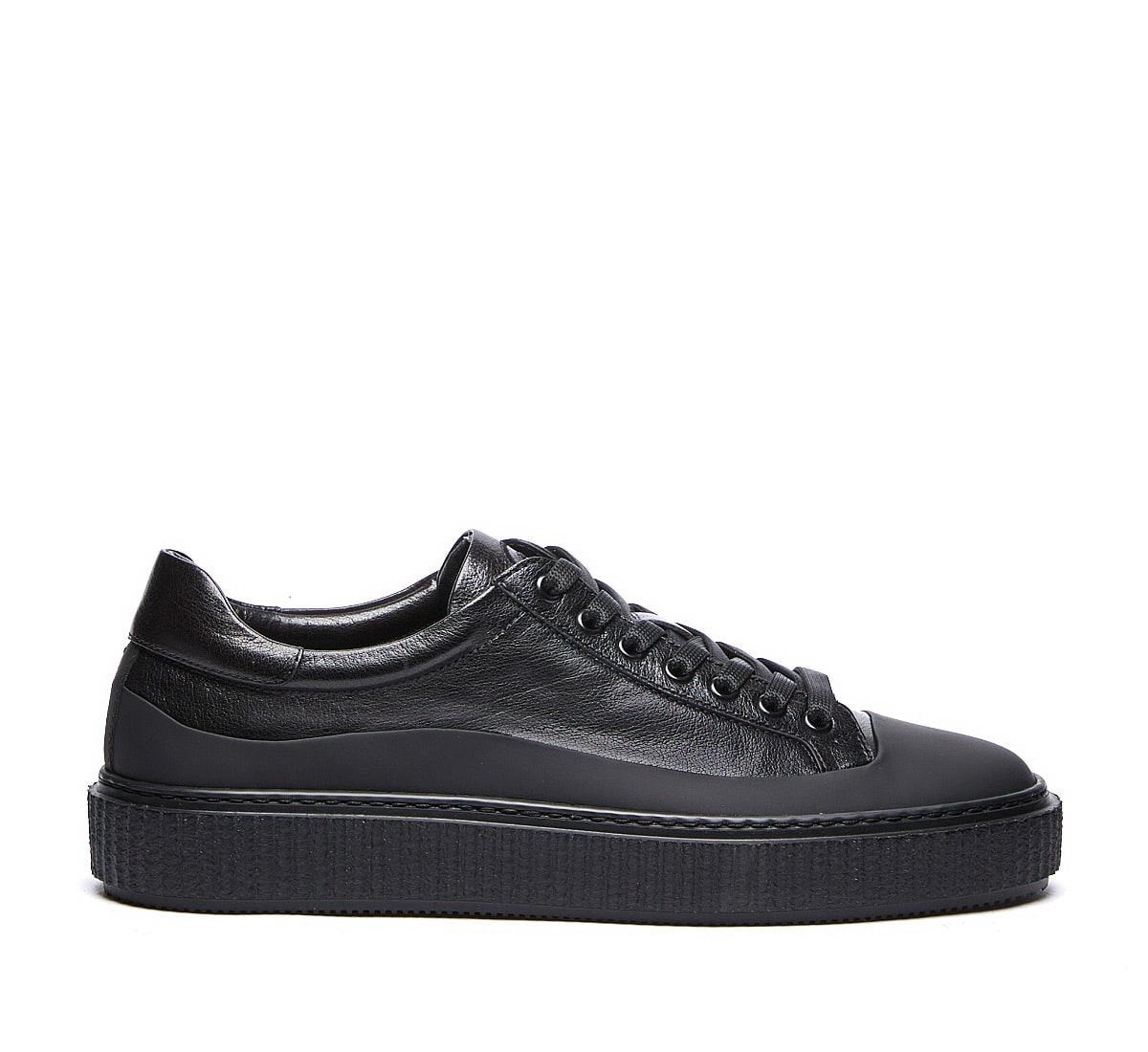 Barracuda Sneaker In Nero+nero