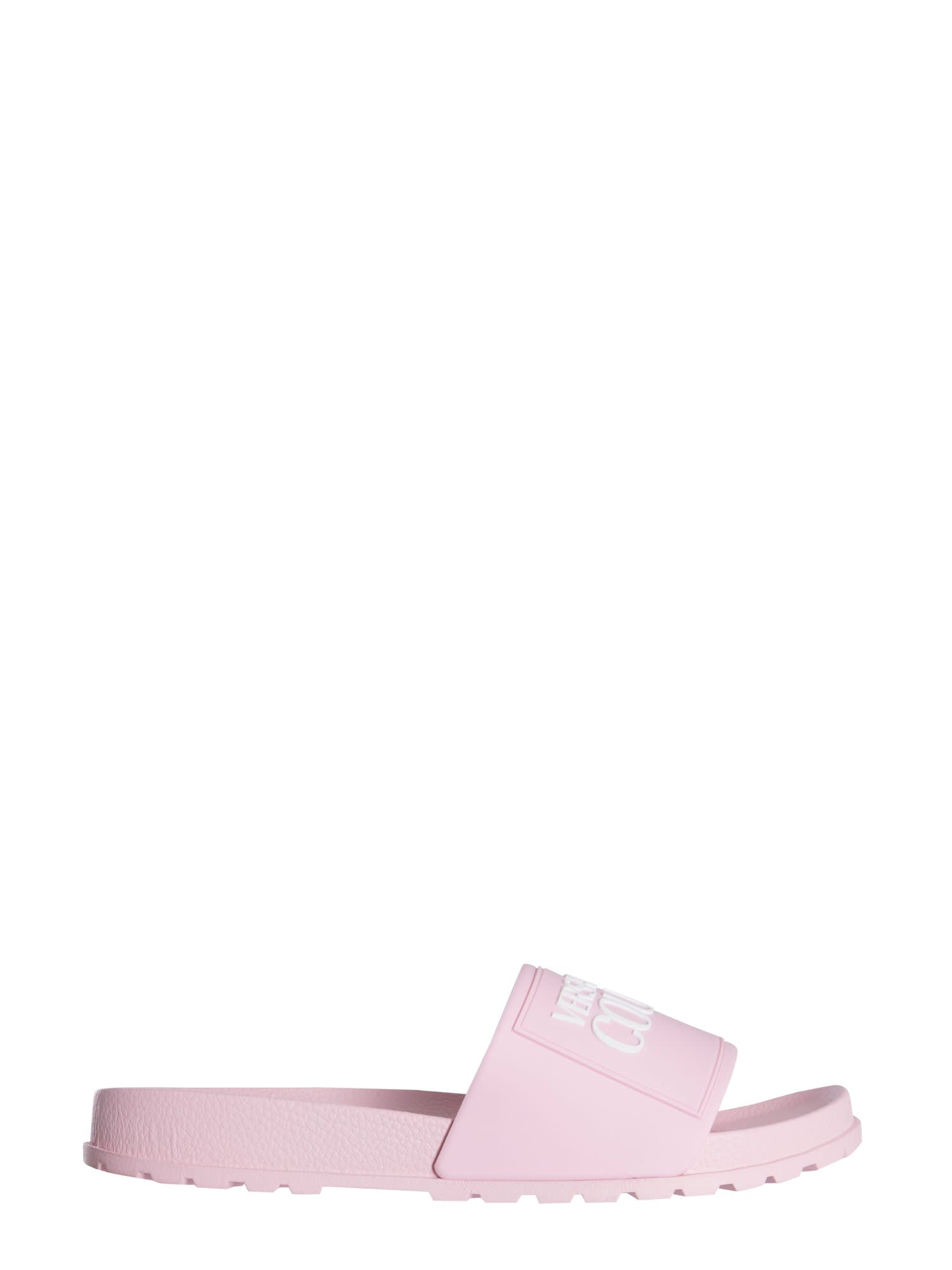 Versace Jeans Couture Slippers SLIDE SANDALS WITH LOGO