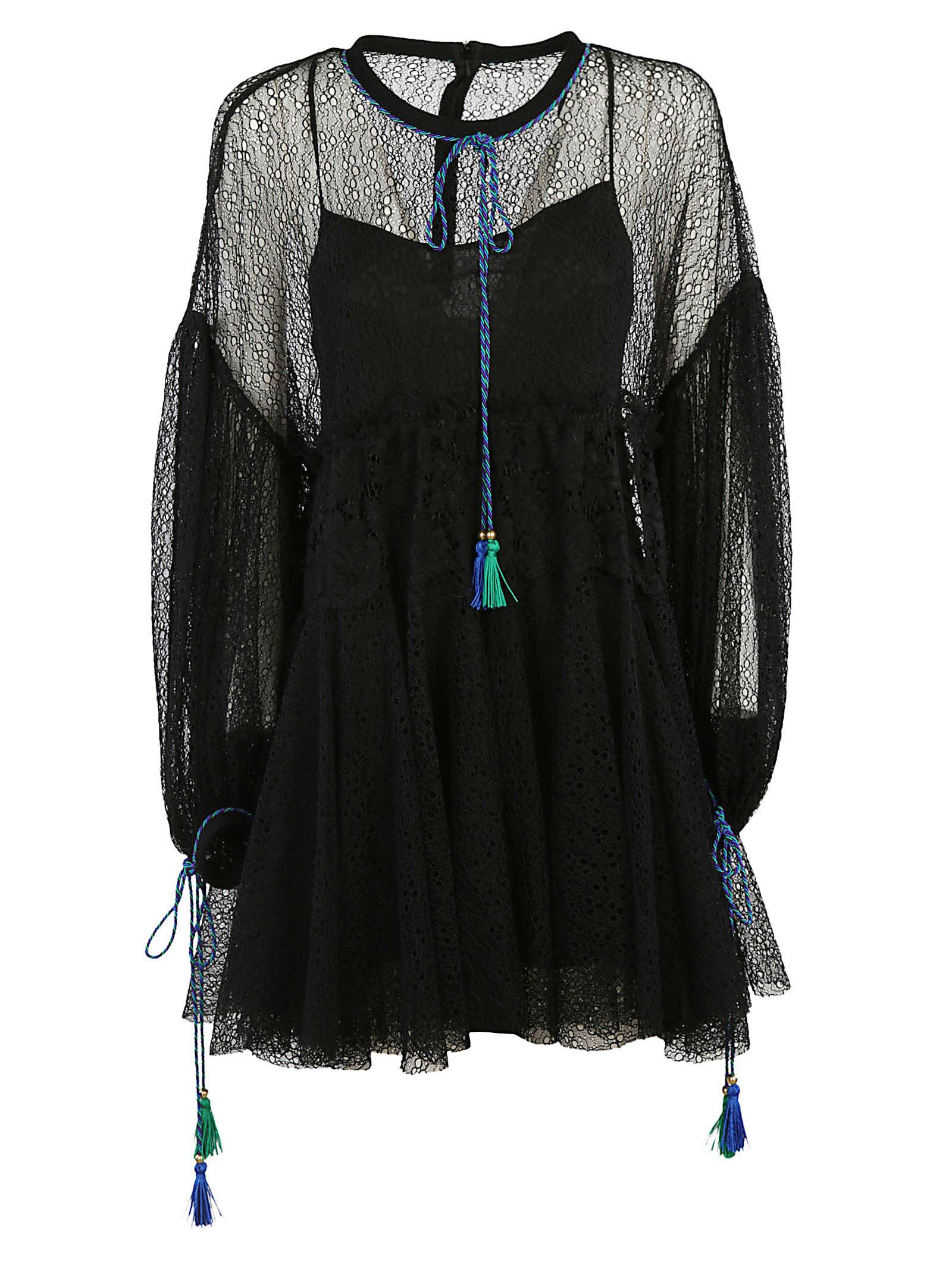 Philosophy di Lorenzo Serafini Tassel Lace Dress