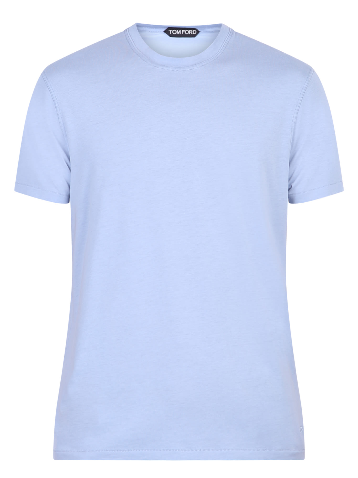 Tom Ford Cottons BLUE T-SHIRT