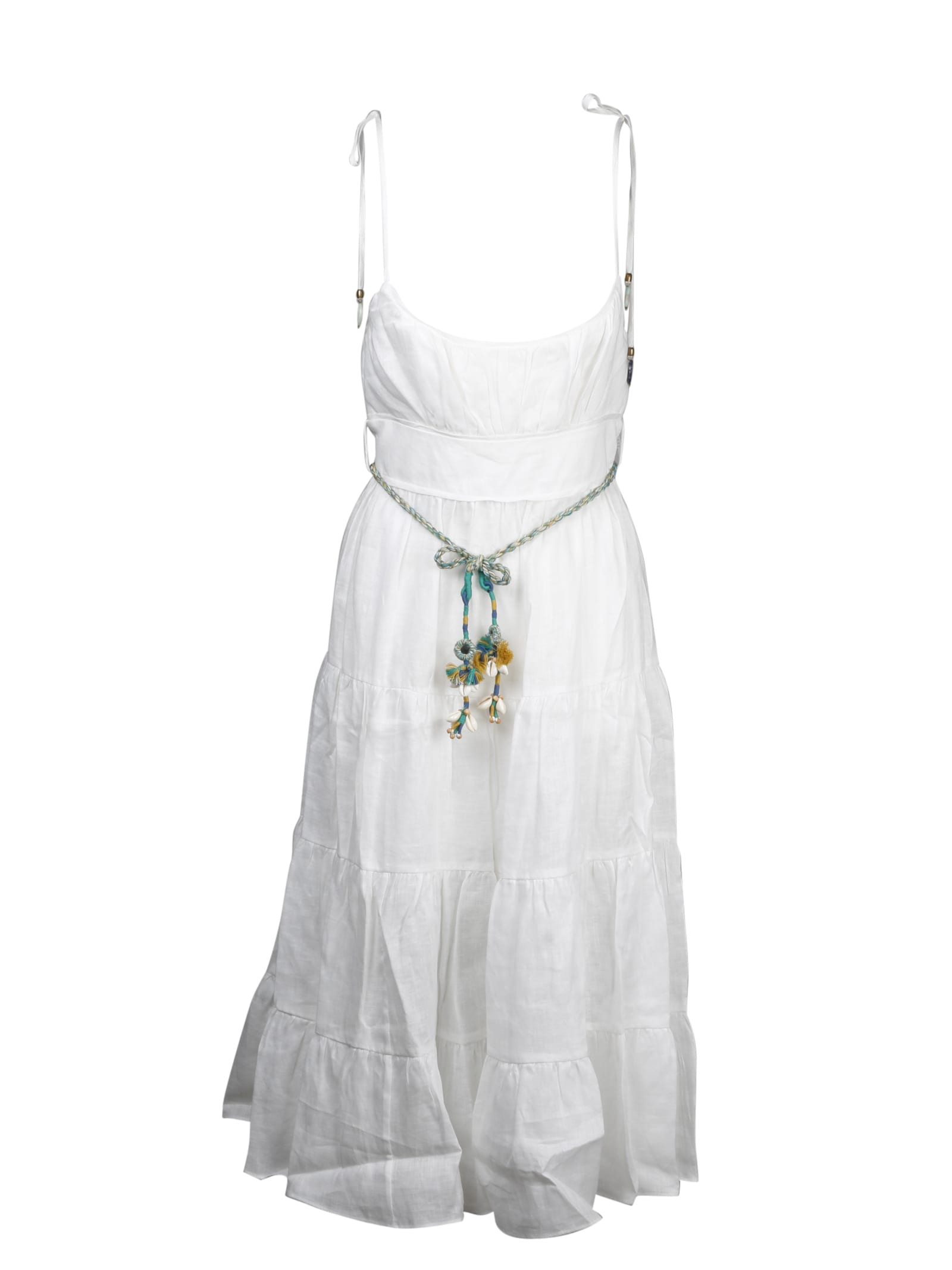 Buy Zimmermann Edie Tiered Sun Dress online, shop Zimmermann with free shipping