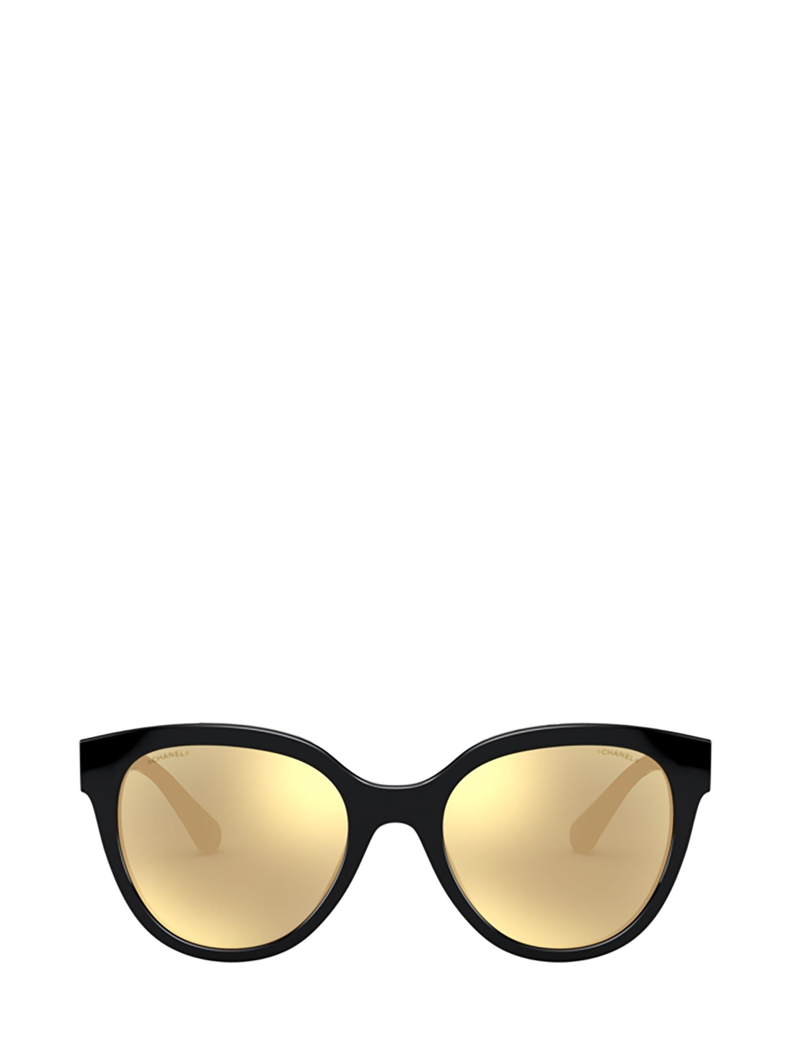 Chanel Chanel Ch5414 Black Sunglasses