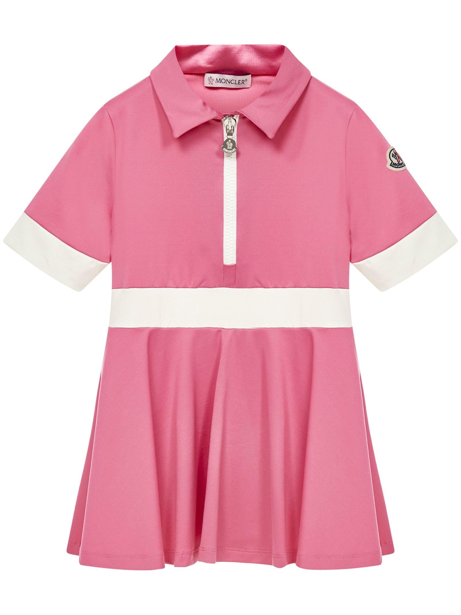 Buy Moncler Enfant Dress online, shop Moncler with free shipping