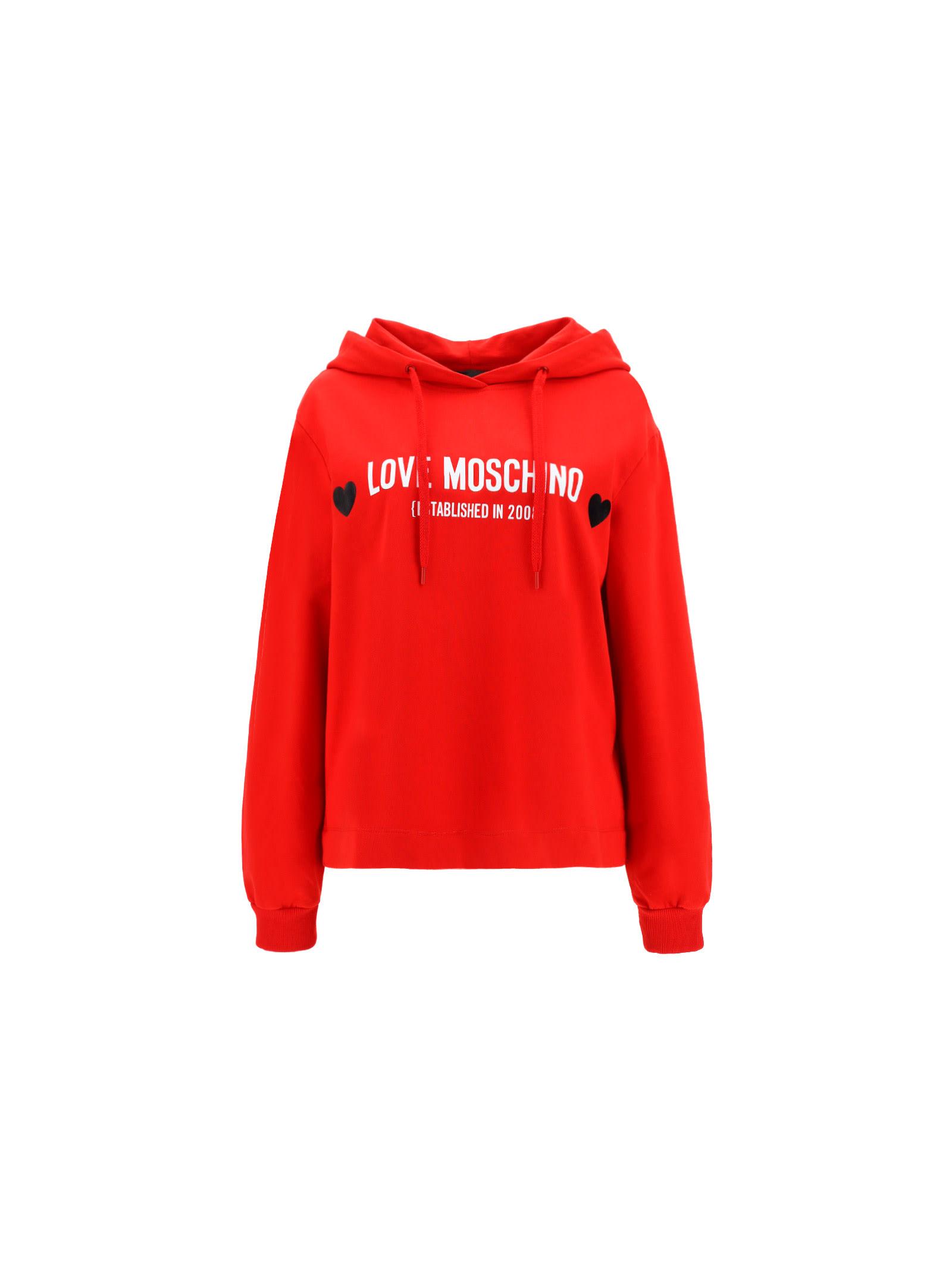 Love Moschino Hoodies HOODIE