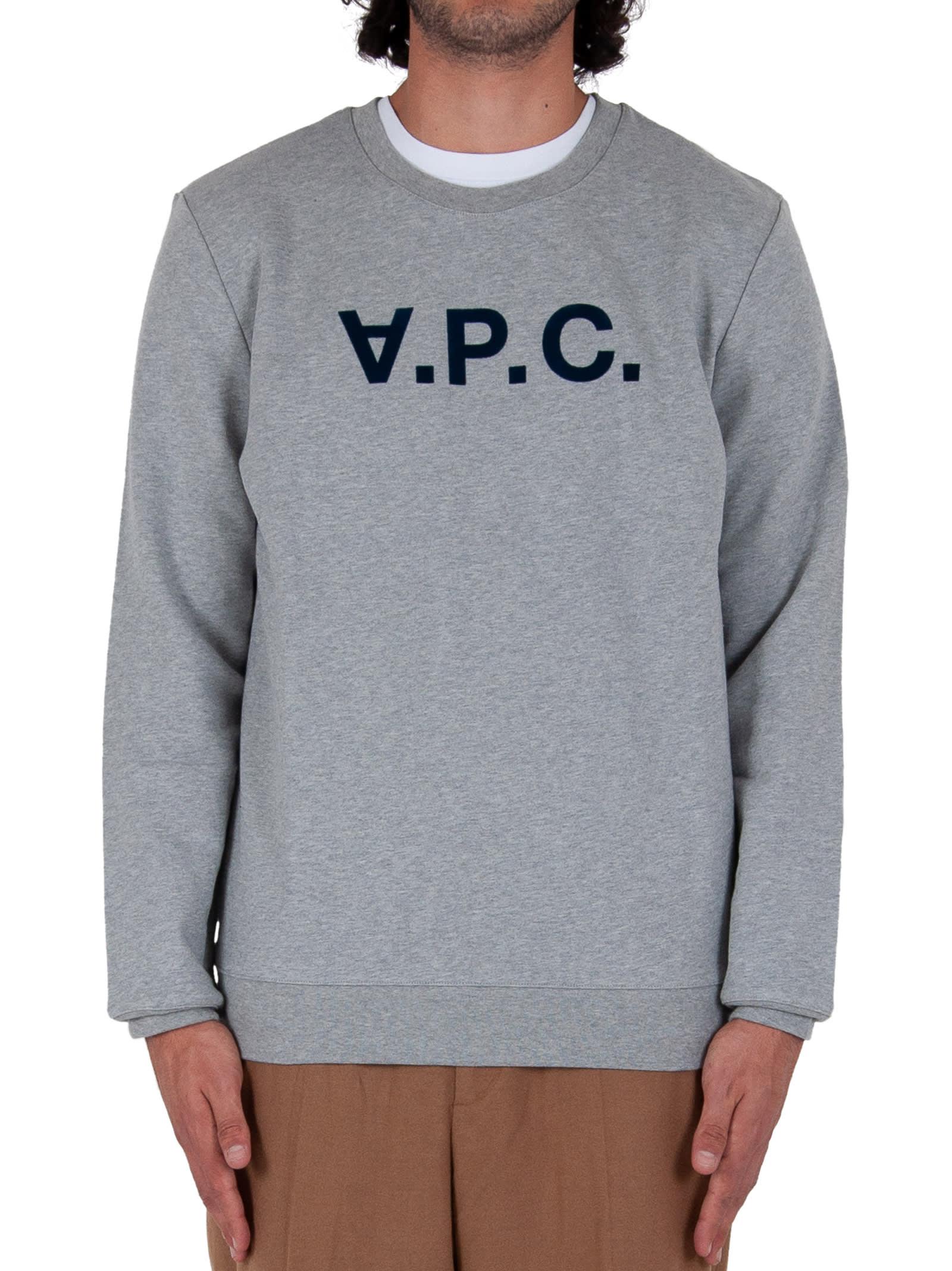 A.p.c. VPC SWEATSHIRT - GREY