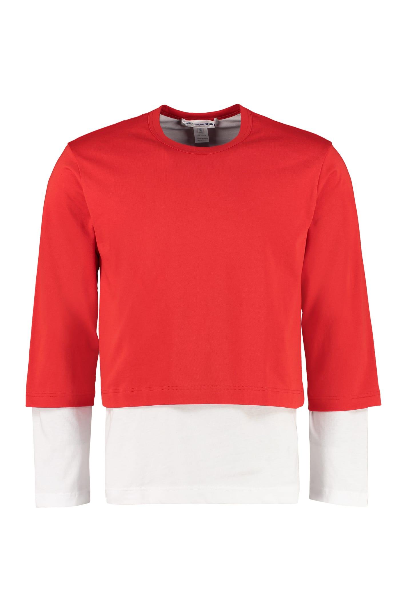 Comme des Garçons Shirt Cotton T-shirt