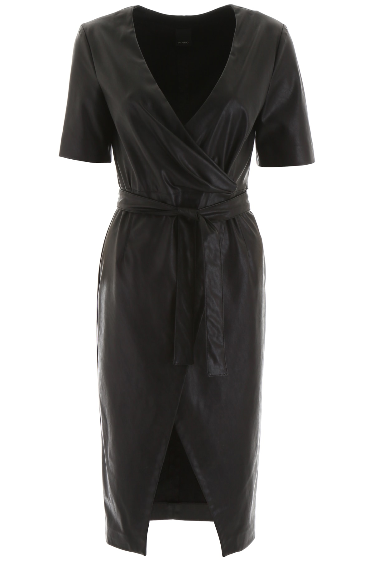 Pinko Faux Leather Dress