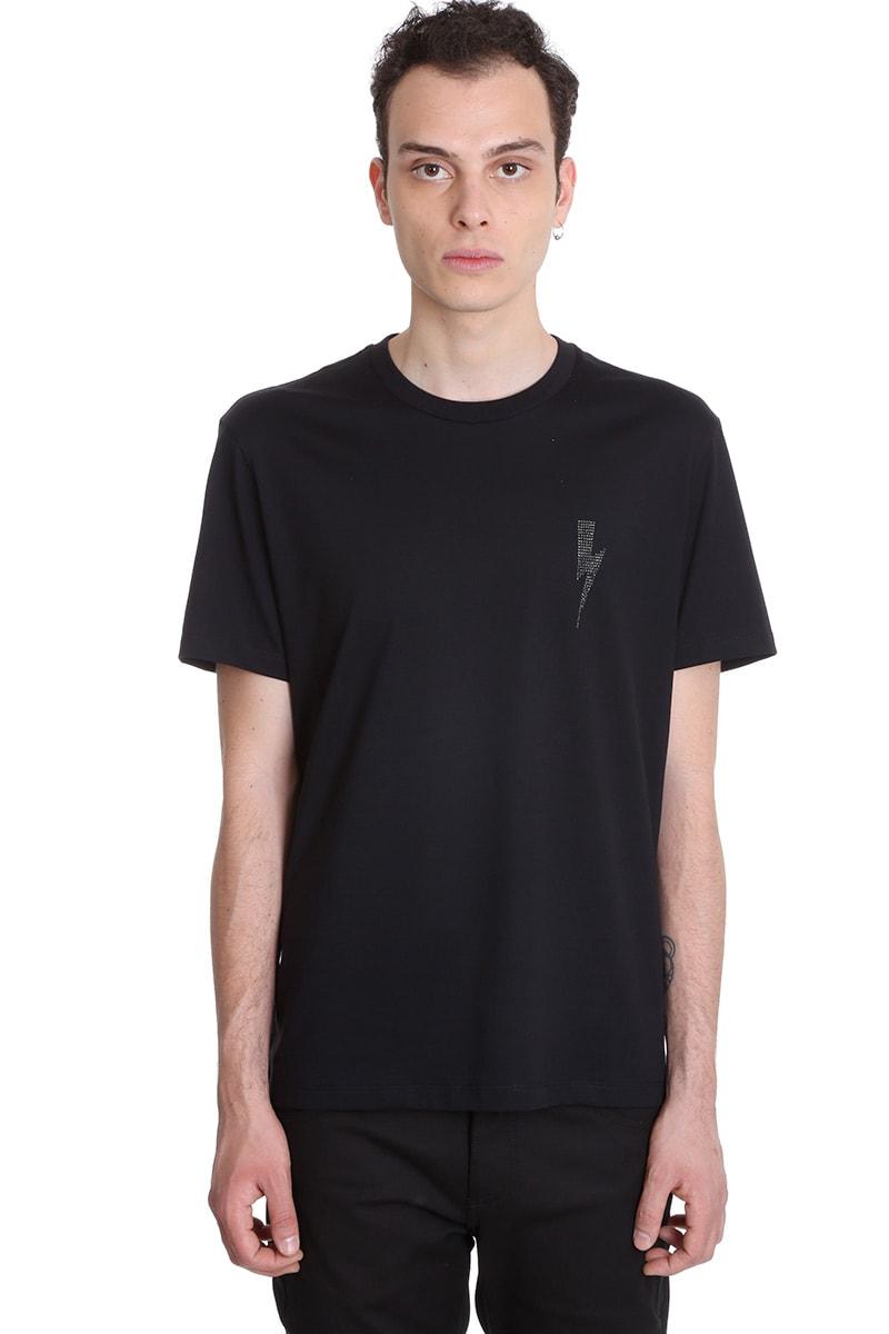Neil Barrett T-shirt In Black Cotton