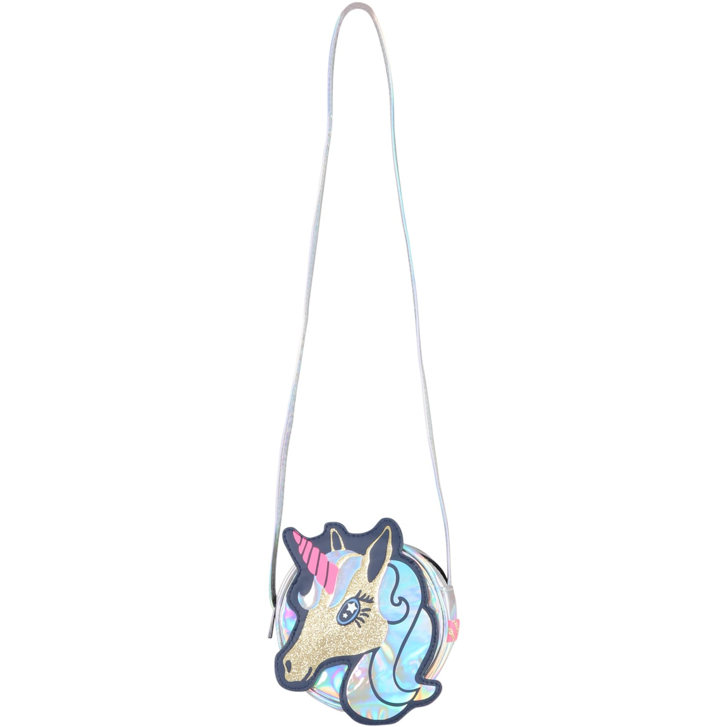 Silver Bag For Girl With Unicorn