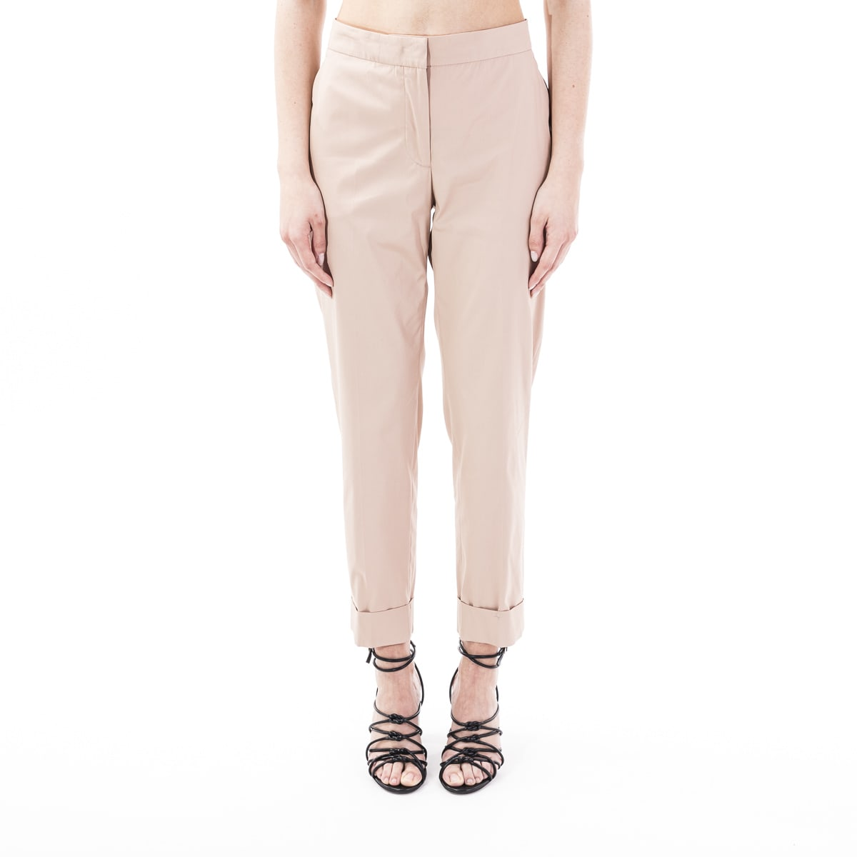 Pt01 Andrea Blend Cotton Trousers