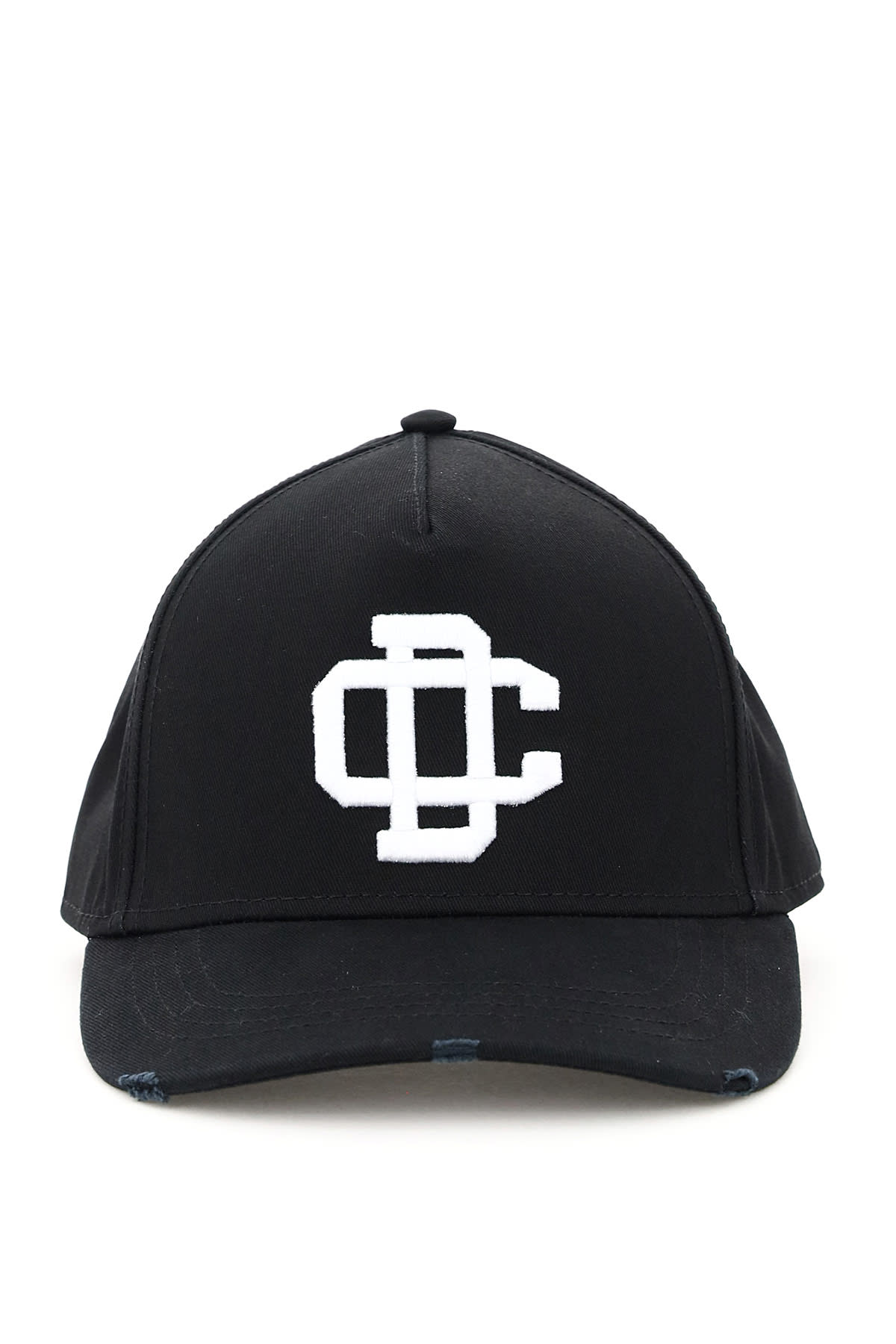 Dsquared2 Baseball Cap With Dc Embroidery