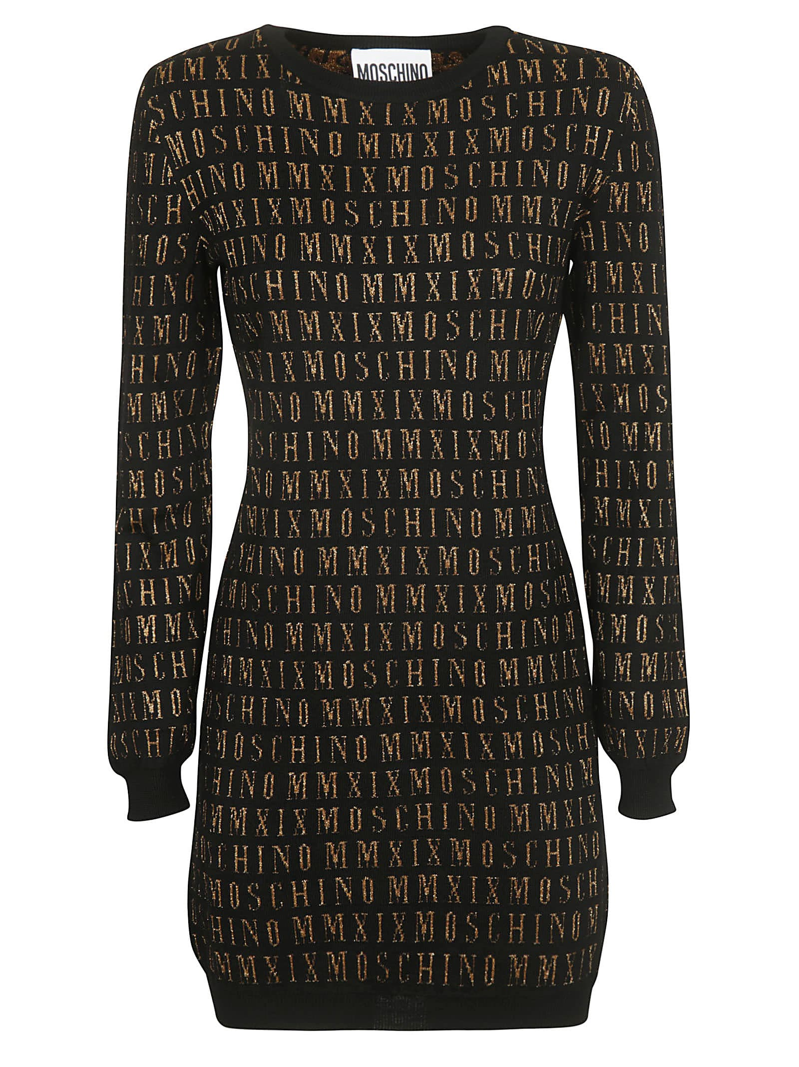 Moschino Logo Print Dress