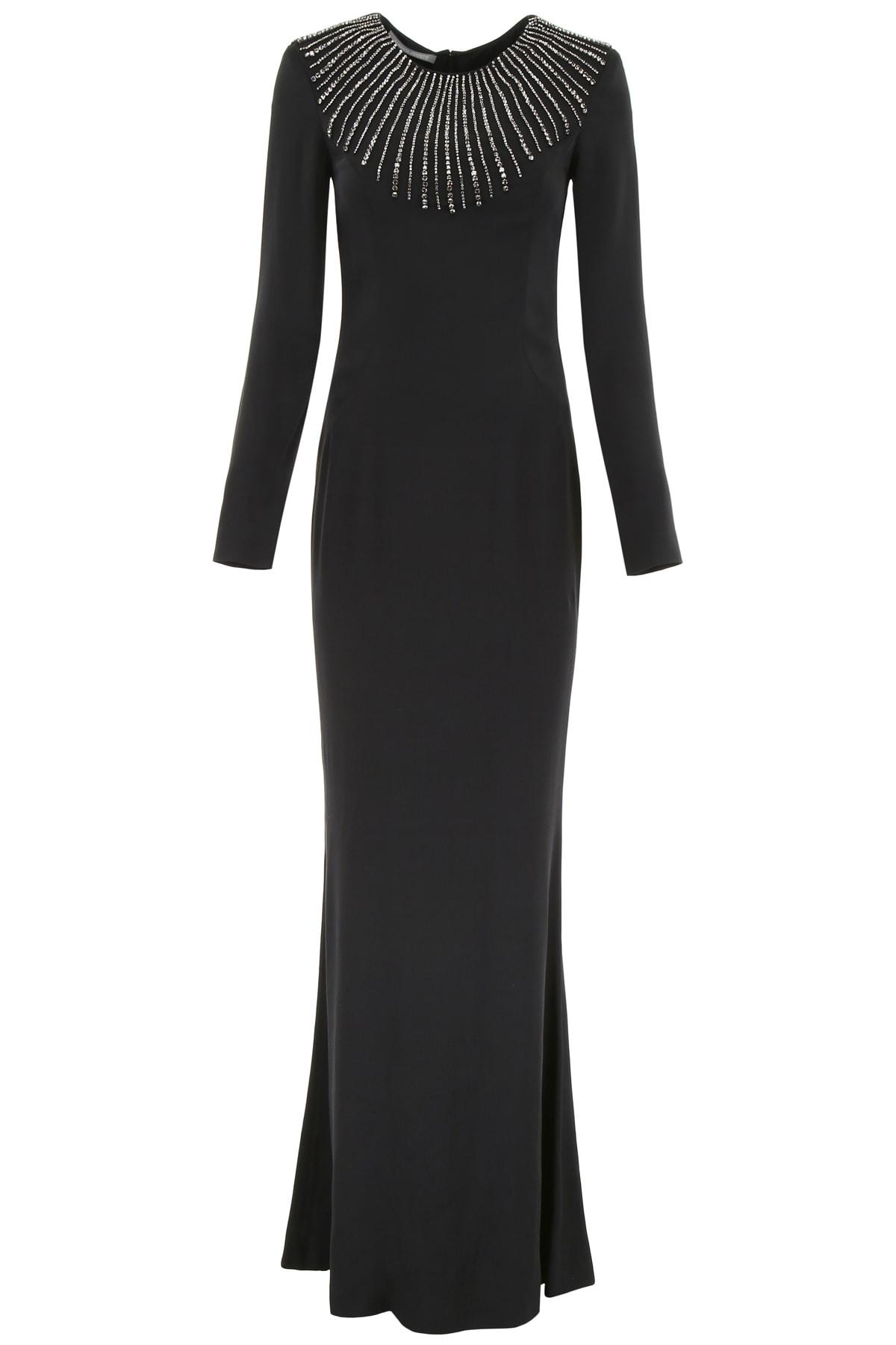 Buy Alberta Ferretti Maxi Dress With Crystals online, shop Alberta Ferretti with free shipping
