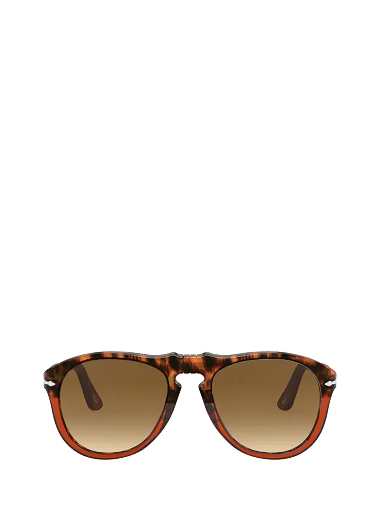 Persol Persol Po0649 Brown Tortoise/trasp Bordeaux Sunglasses