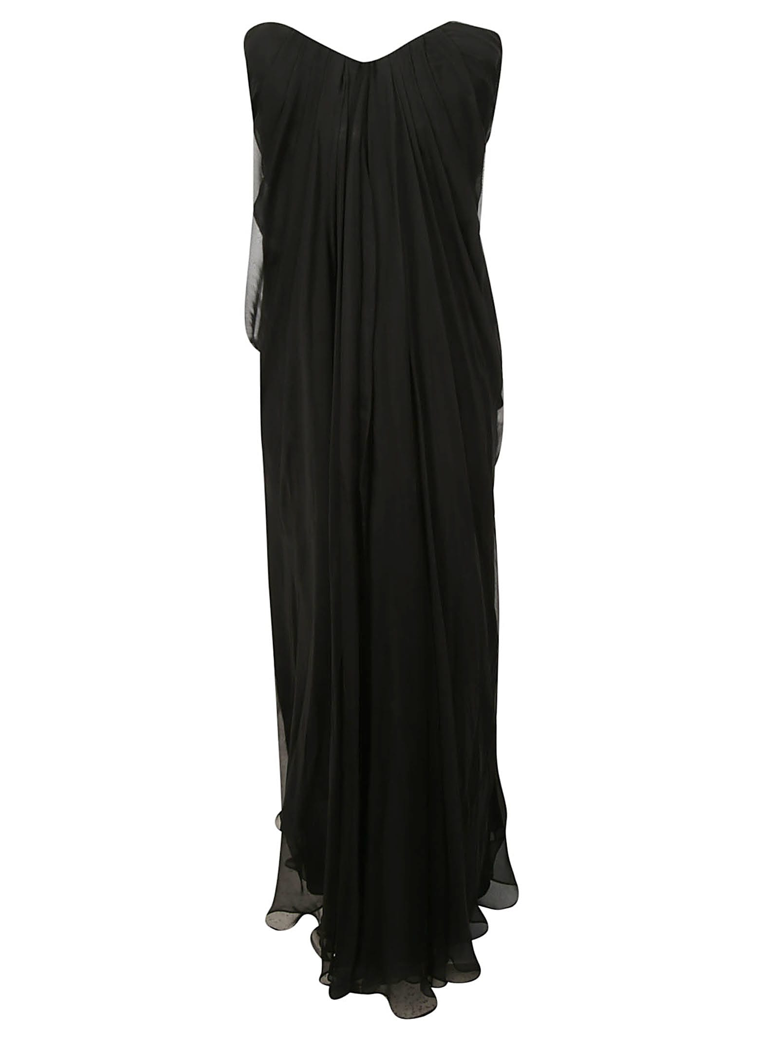 Alexander McQueen Strapless Bandeau Dress