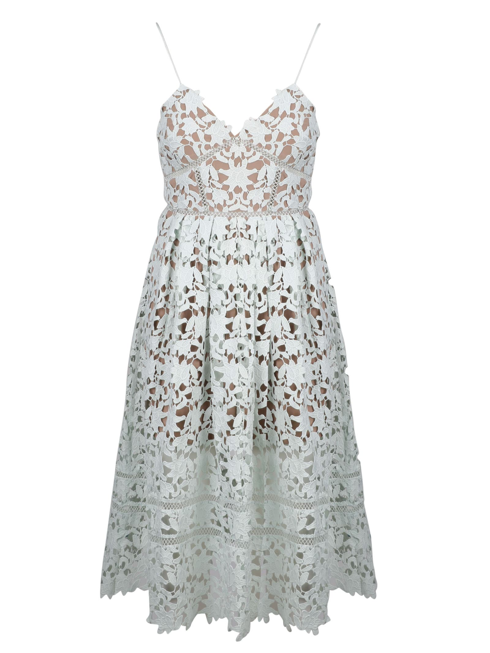 Buy self-portrait Midi Azaelea Dress online, shop self-portrait with free shipping