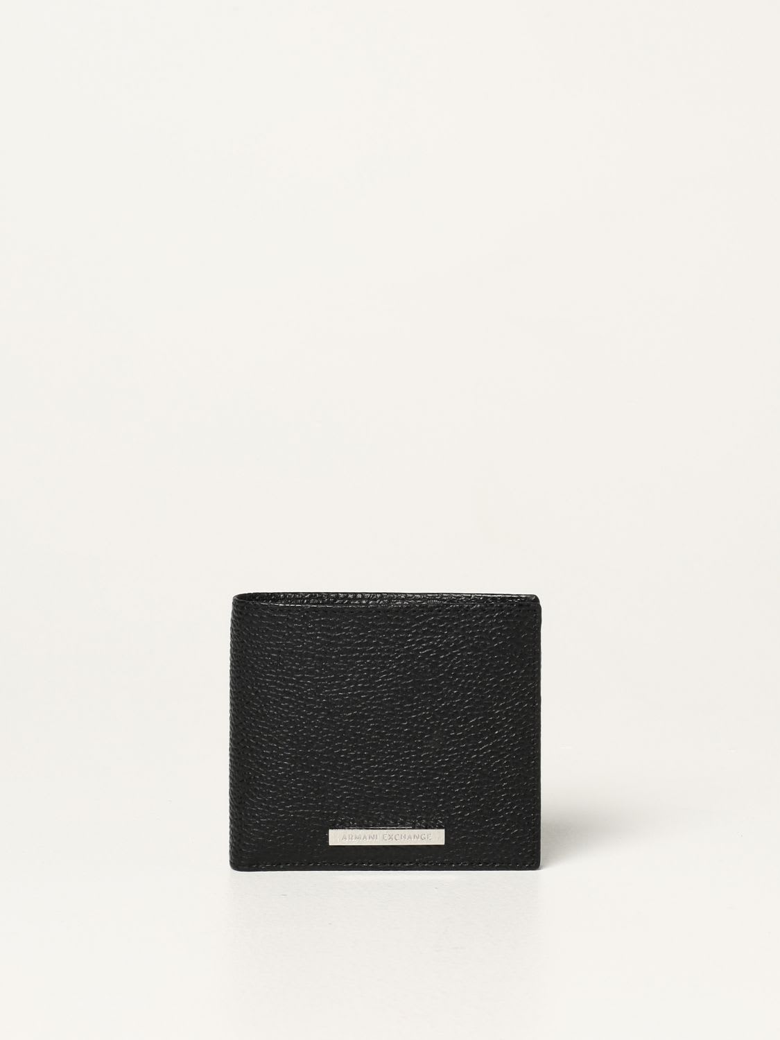 Armani Exchange Wallet Armani Exchange Wallet In Textured Leather