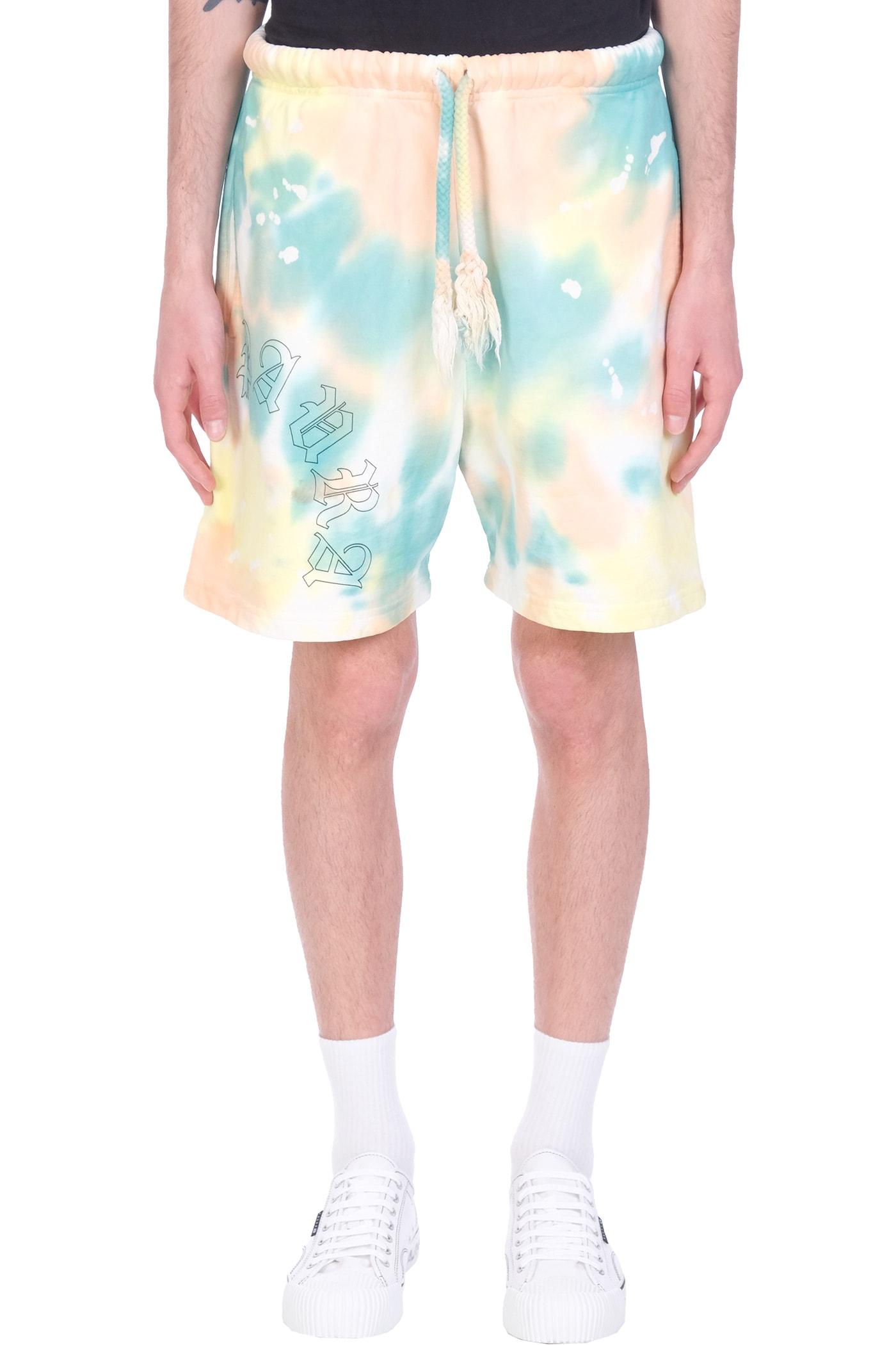 Danilo Paura Filippo Shorts In Multicolor Cotton