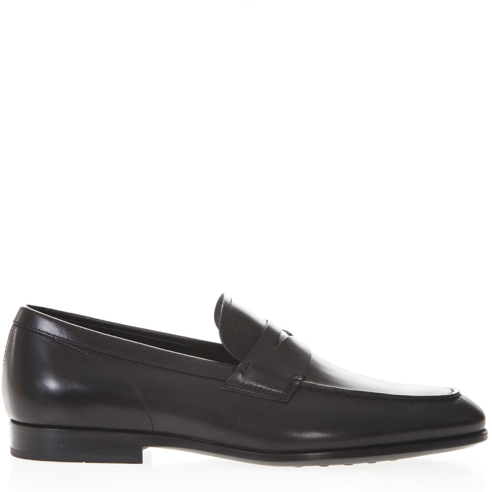 Tods Loafers In Black Leather