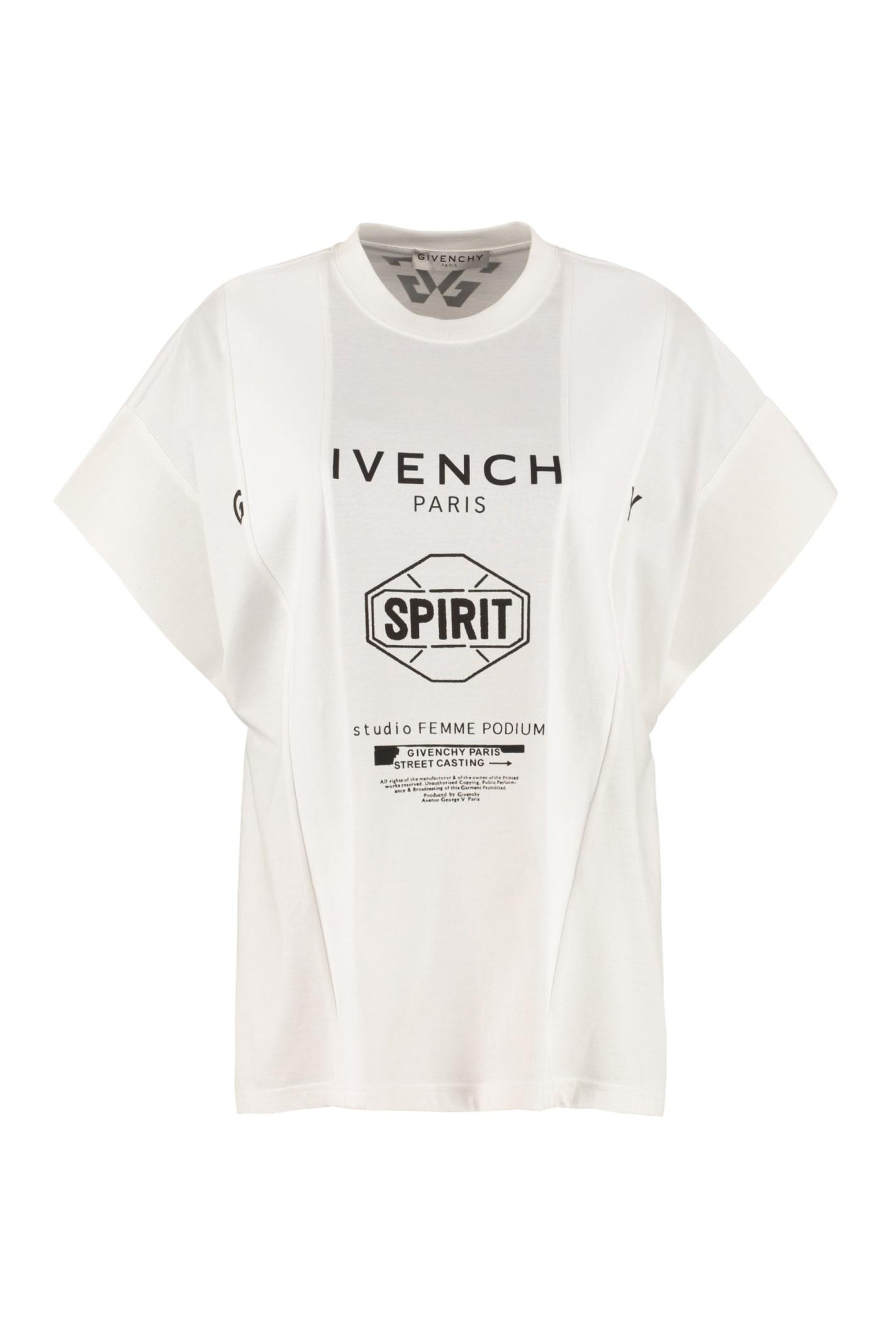 Givenchy Crew-neck Cotton T-shirt